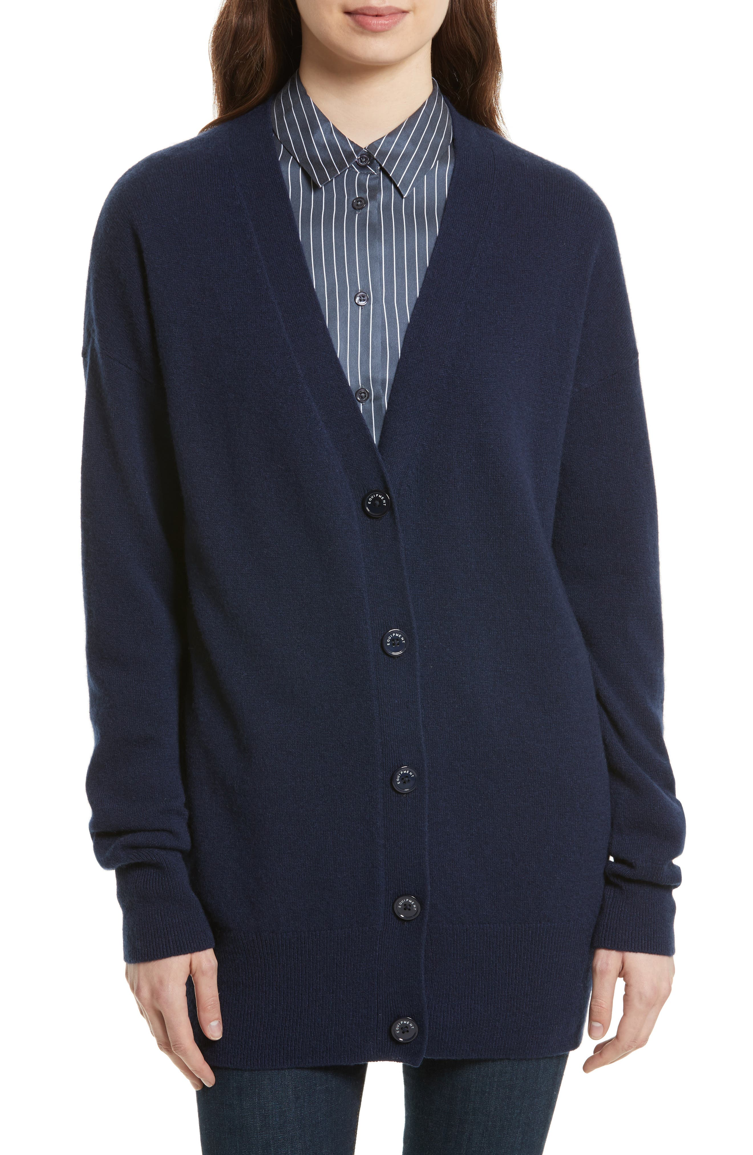 Equipment Gia Cashmere Button Cardigan