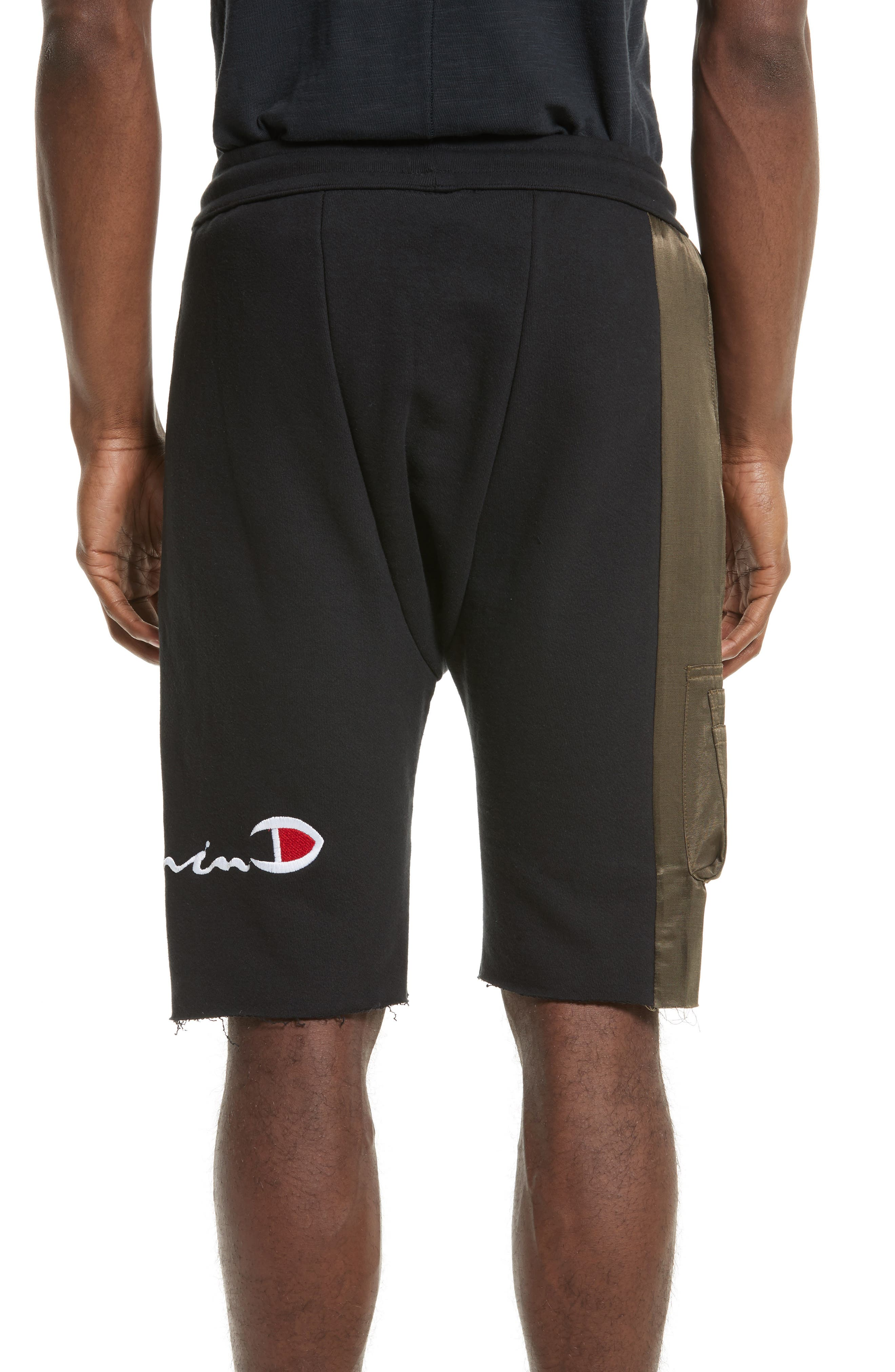 Alternate Image 2  - Drifter Vitamin D Graphic Panel Shorts