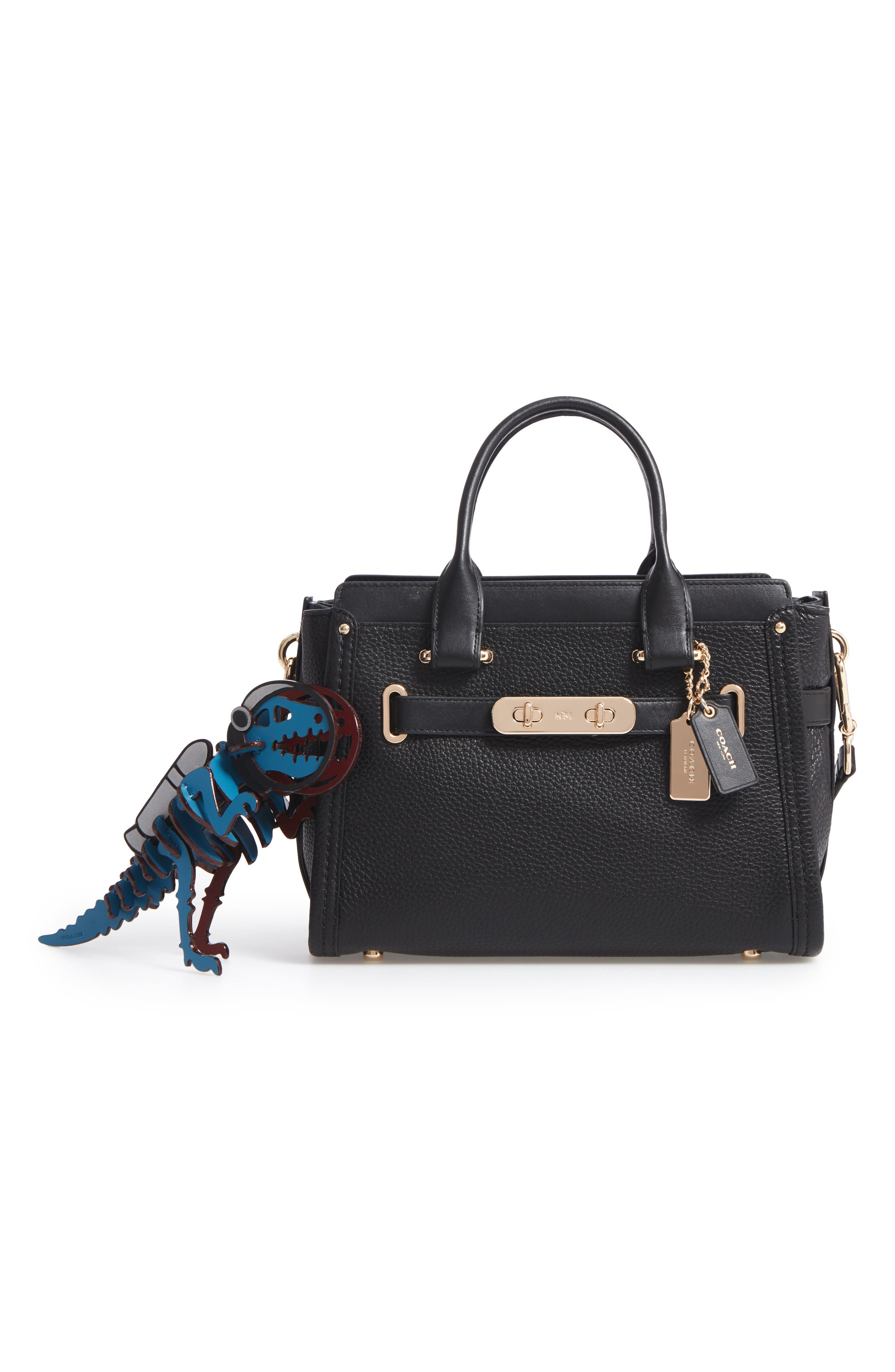 Alternate Image 2  - COACH 1941 Jetpack Rexy Leather Bag Charm