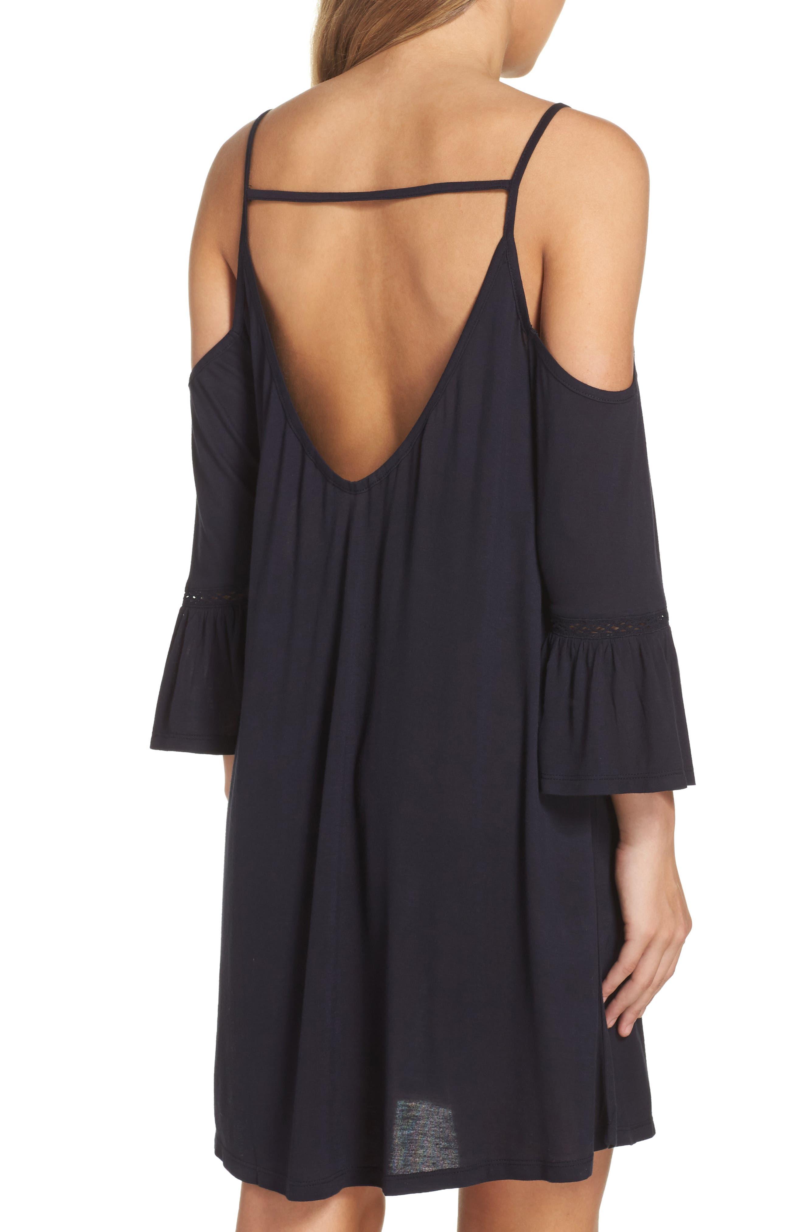 Alternate Image 2  - Leith Cold Shoulder Cover-Up Dress
