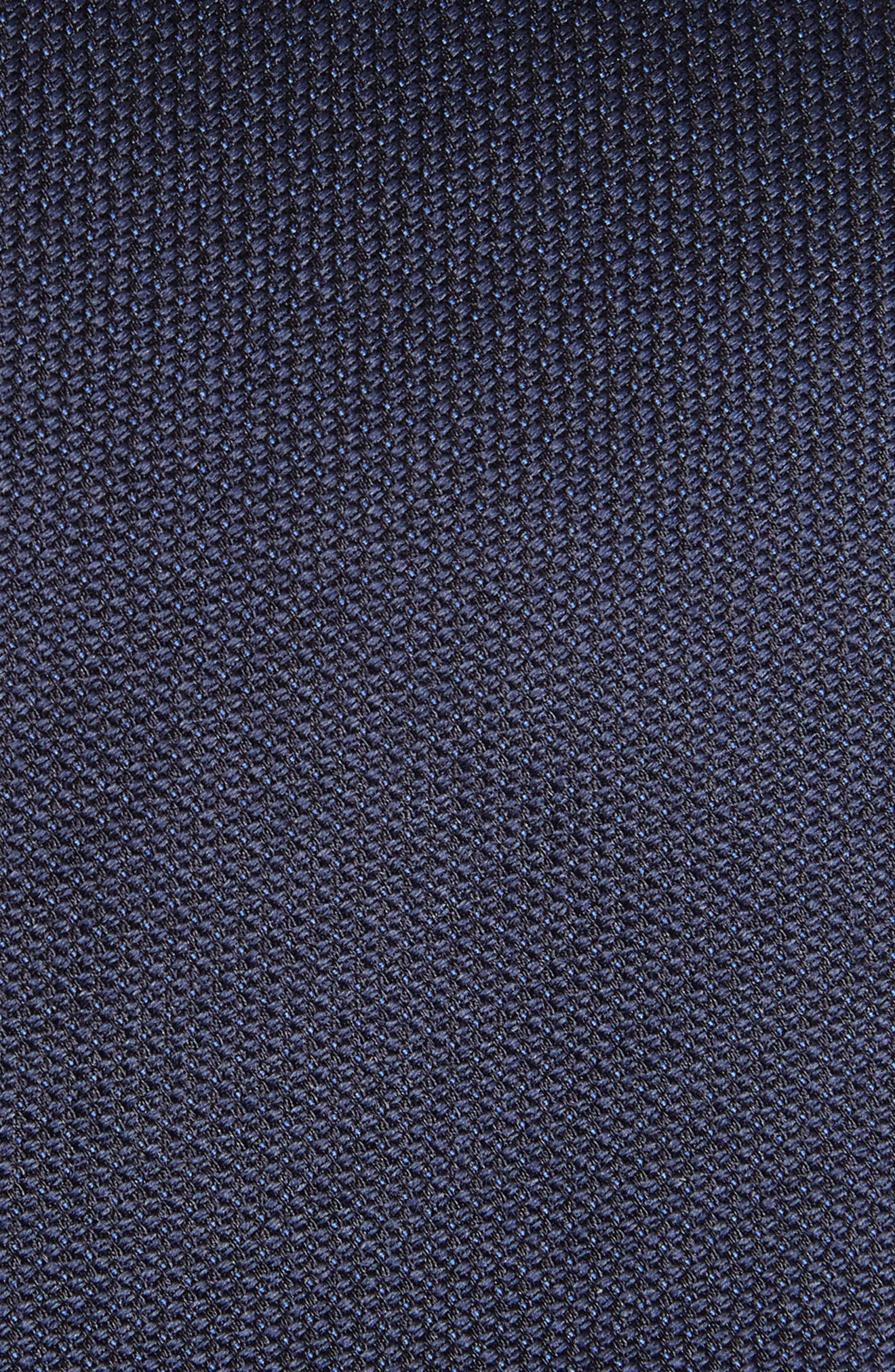 Solid Silk Tie,                             Alternate thumbnail 2, color,                             Charcoal