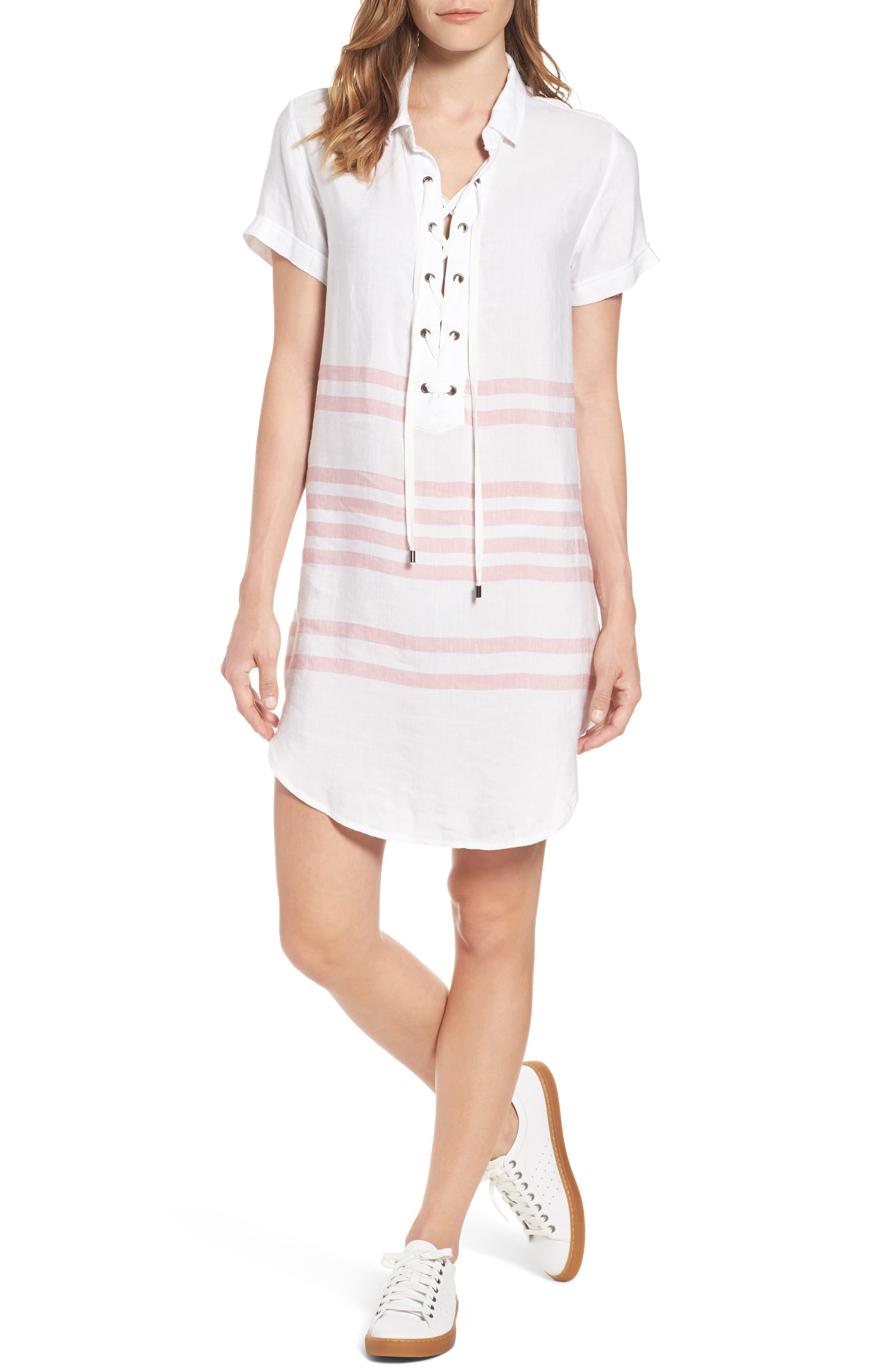 Rails Rocky Lace-Up Tunic Dress
