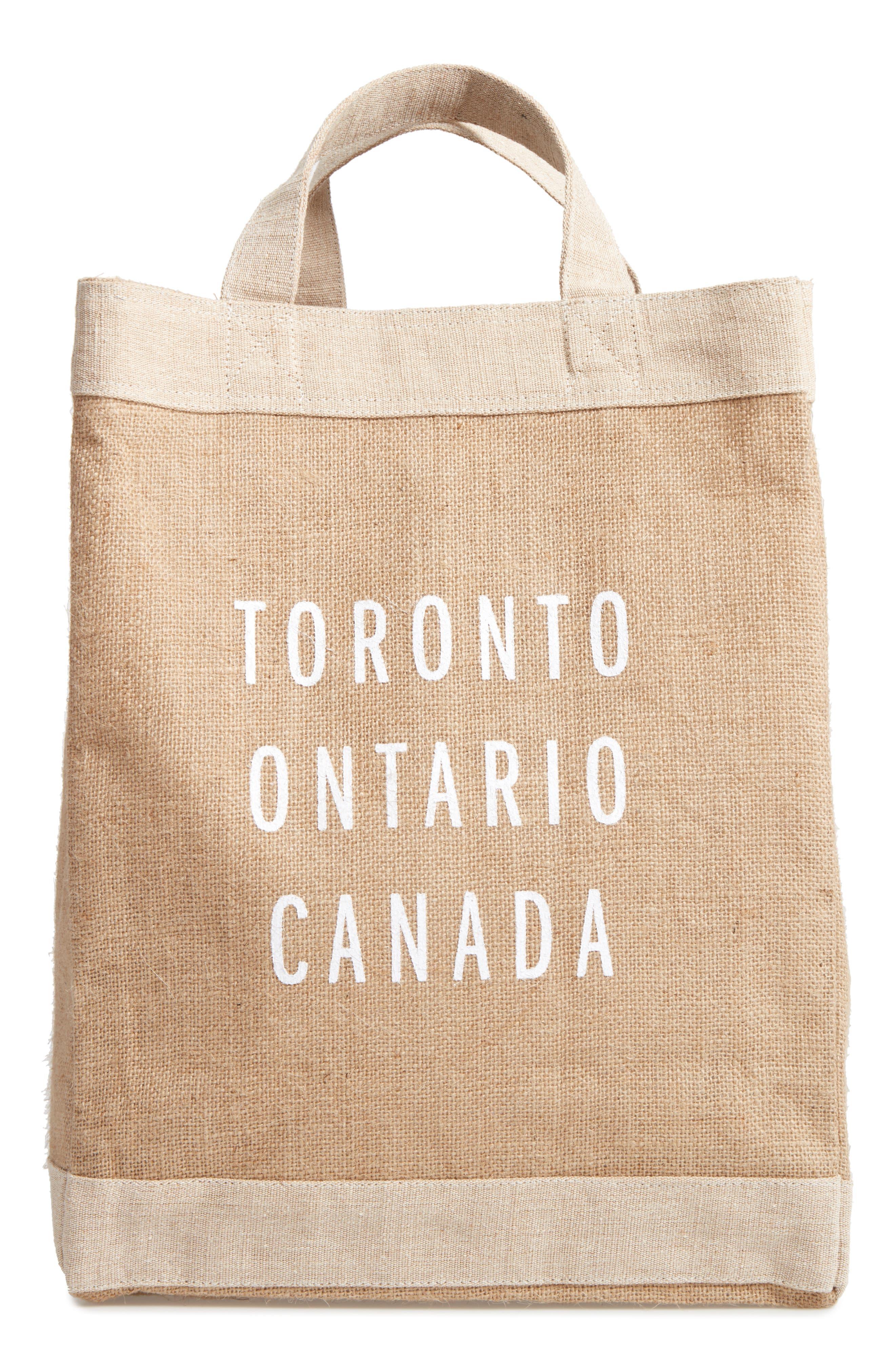 Toronto Simple Market Bag,                             Main thumbnail 1, color,                             Natural