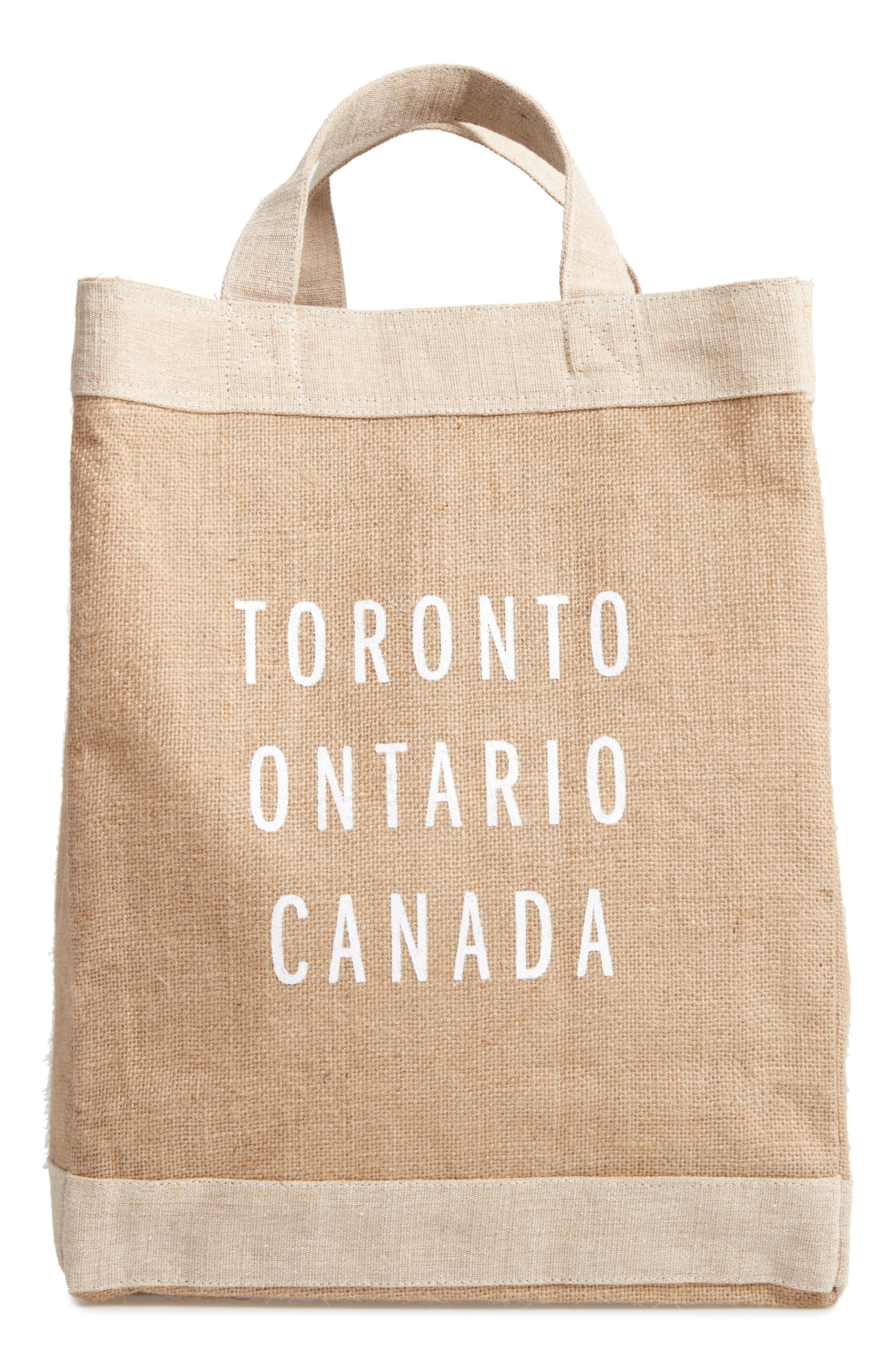 Toronto Simple Market Bag,                         Main,                         color, Natural