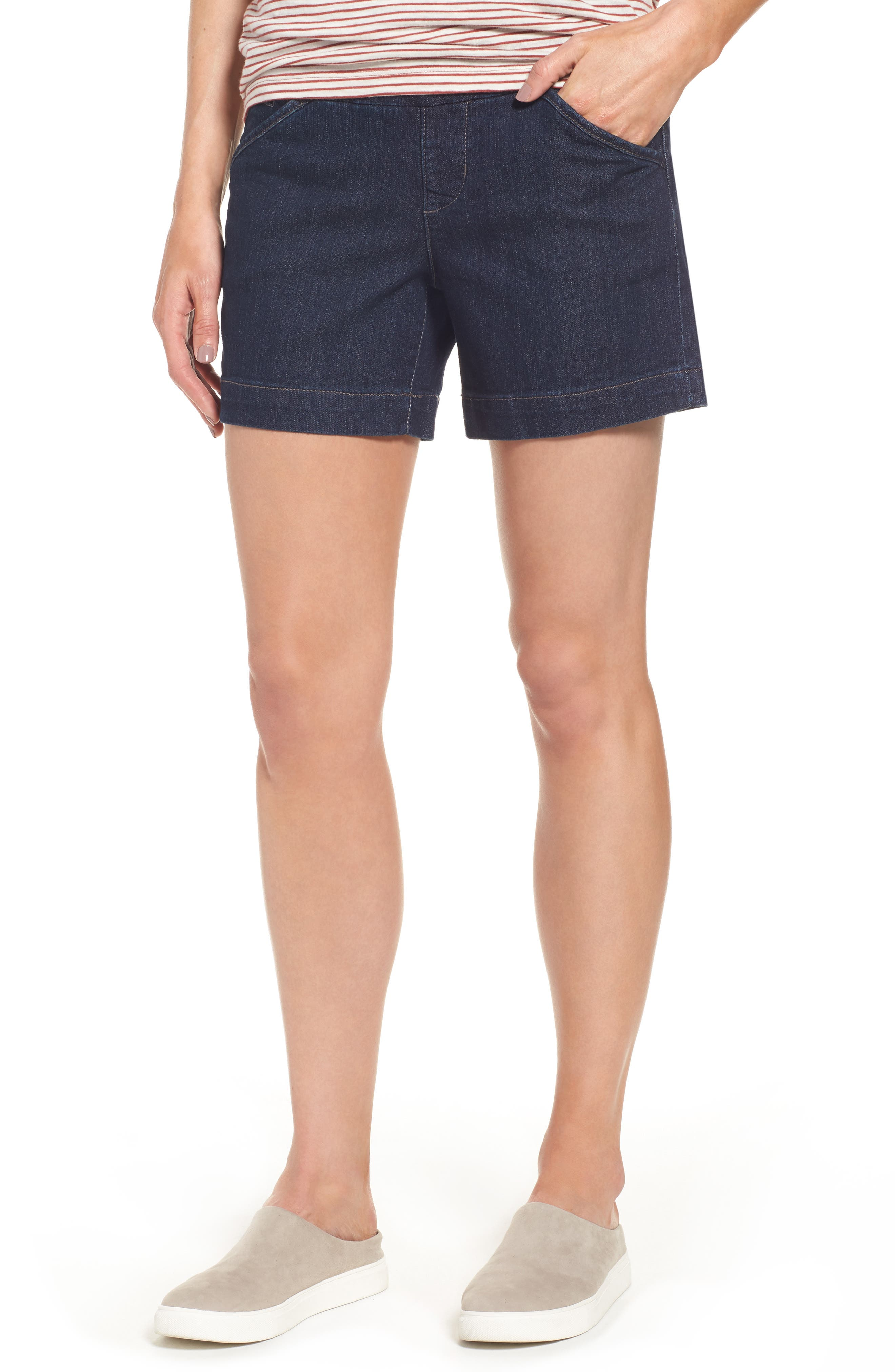 Jag Jeans Ainsley Pull-On Denim Shorts