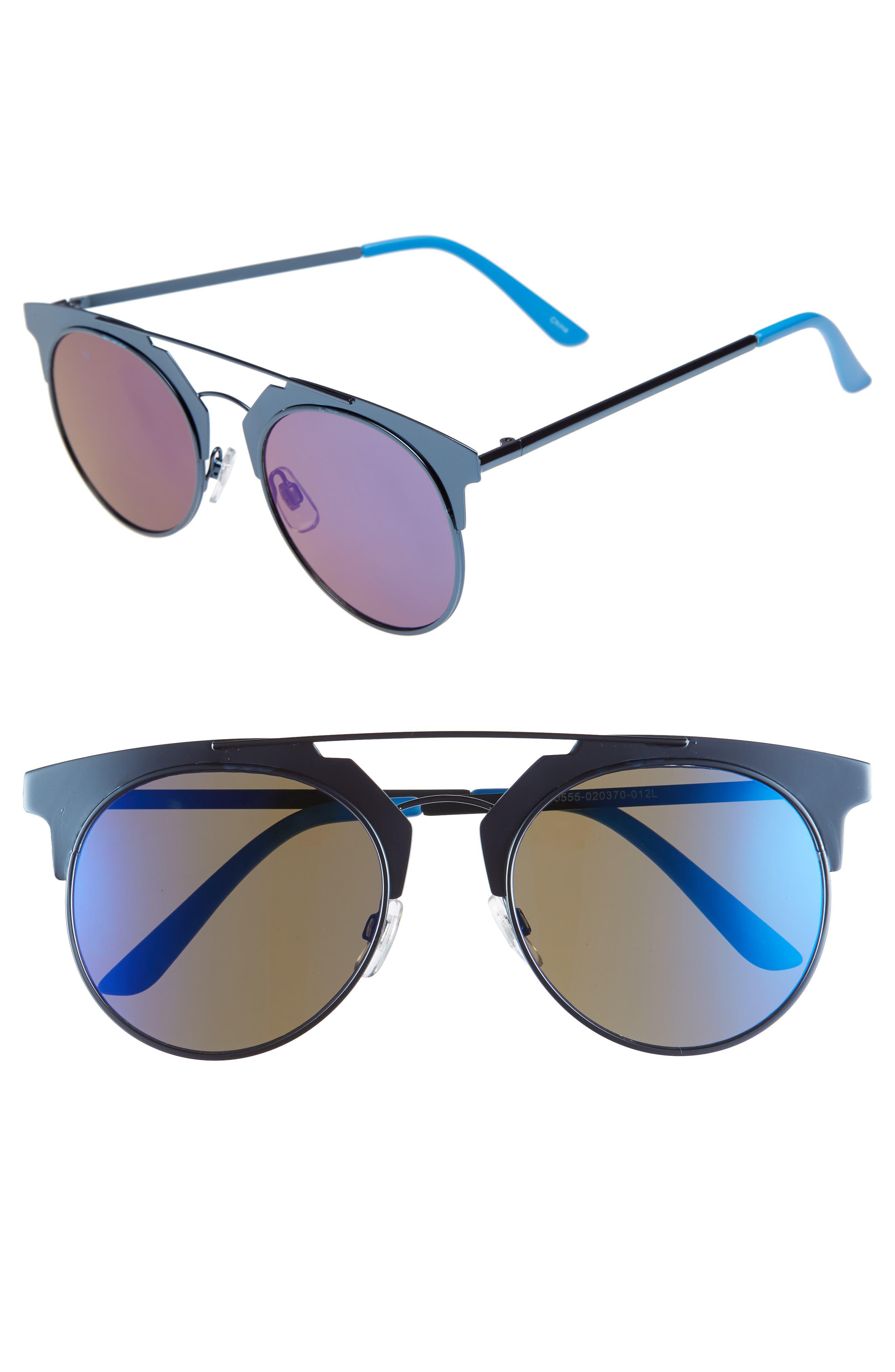 BP. 47mm Two-Tone Sunglasses