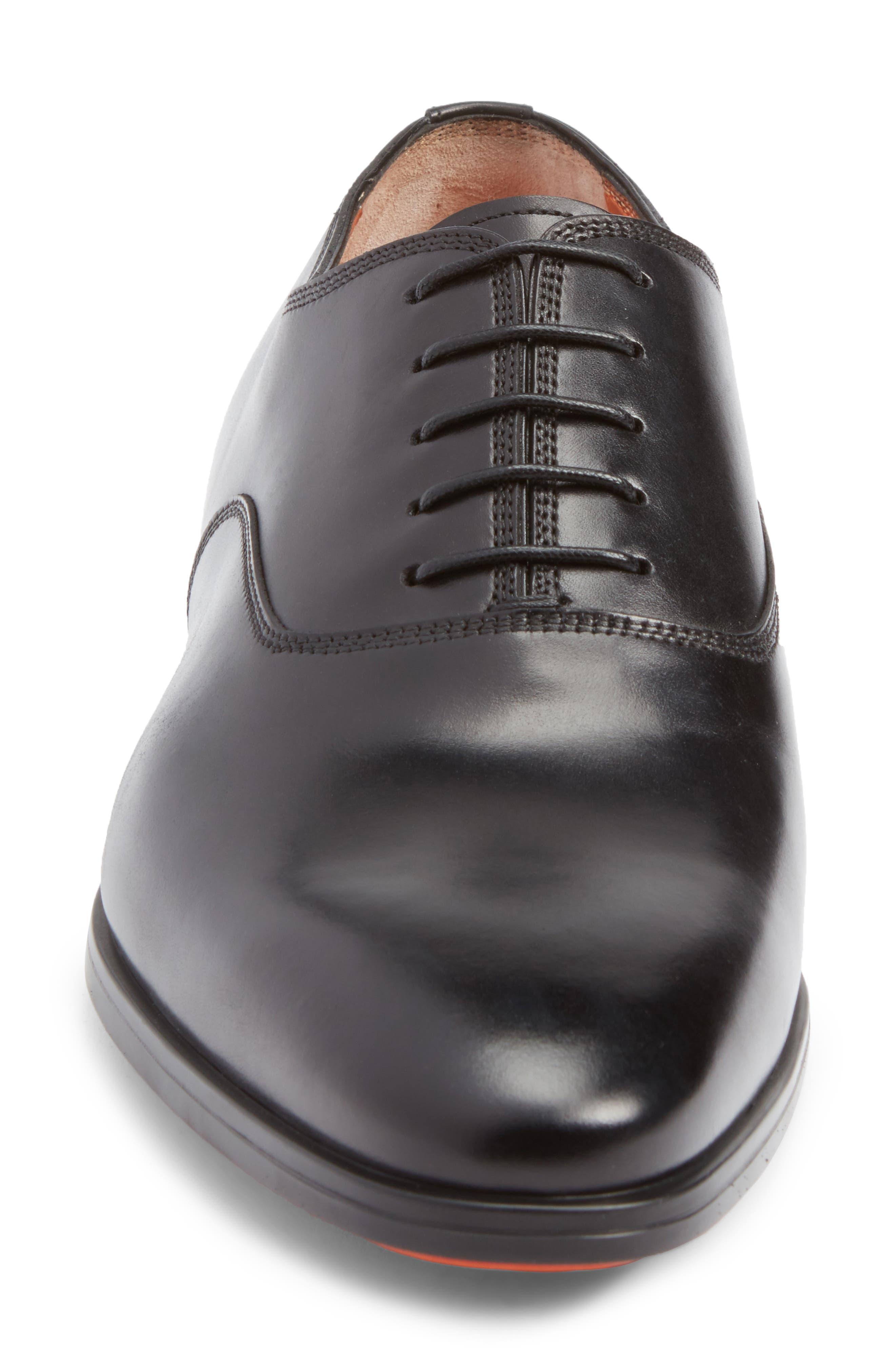 Alternate Image 4  - Santoni Fenwick Plain Toe Oxford (Men)