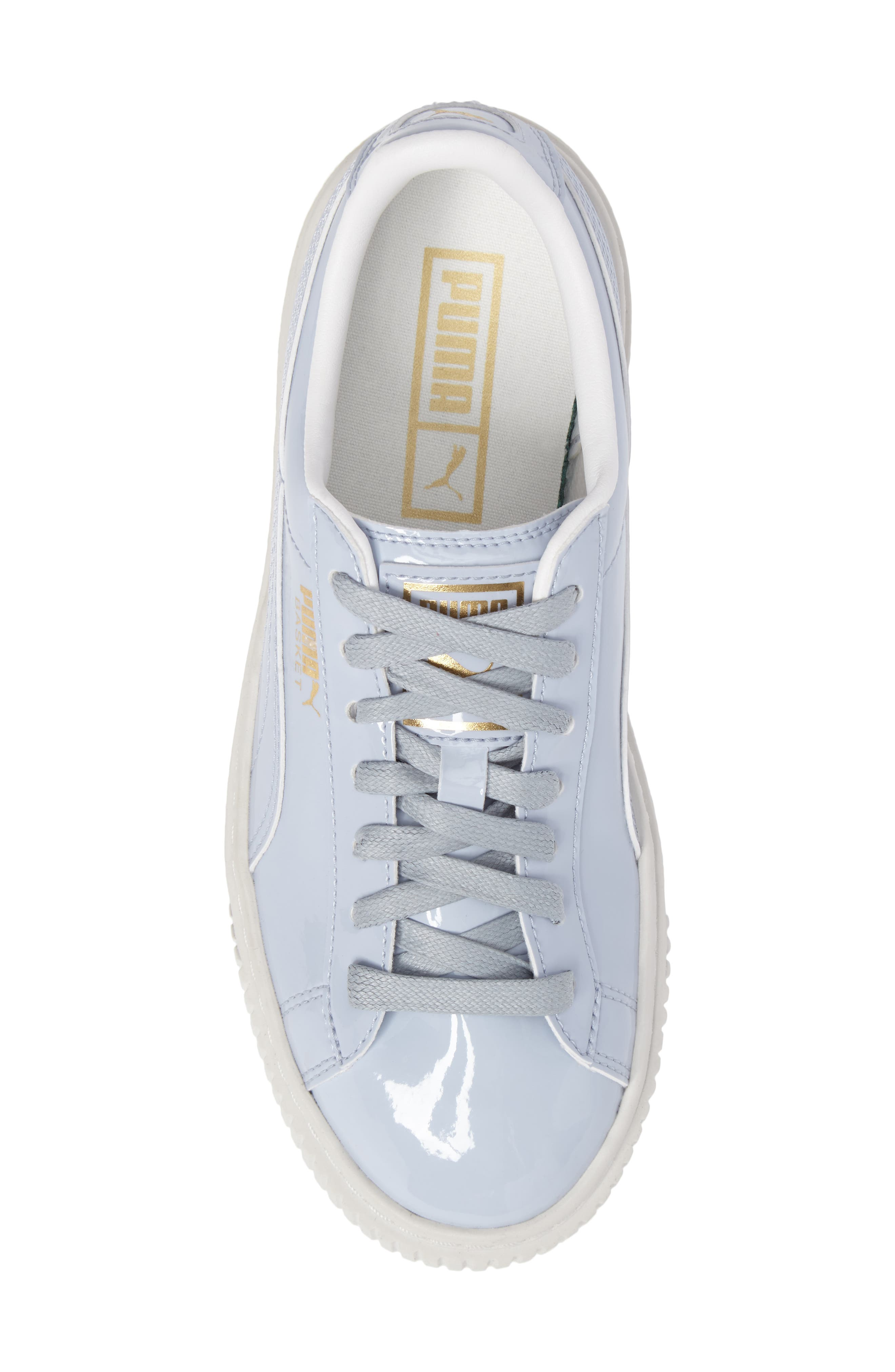 Alternate Image 5  - PUMA Basket Platform Sneaker (Women)