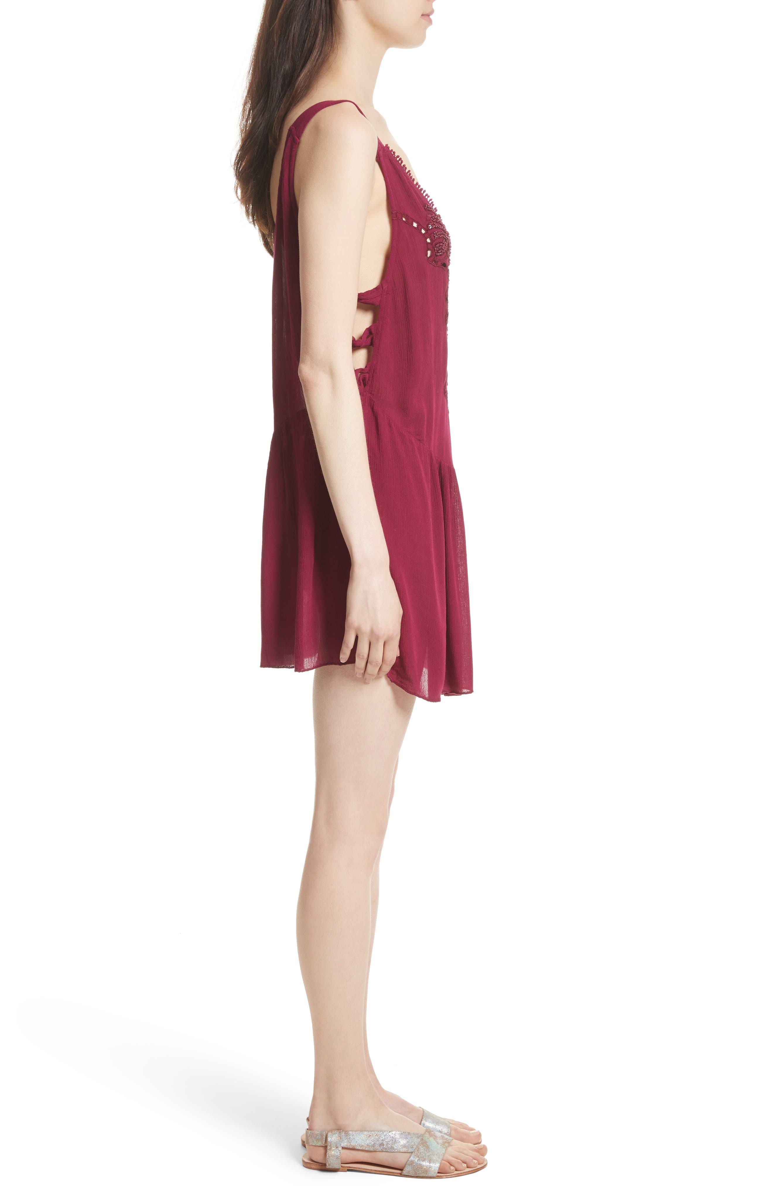 Alternate Image 3  - Free People Delphine Embellished Slipdress