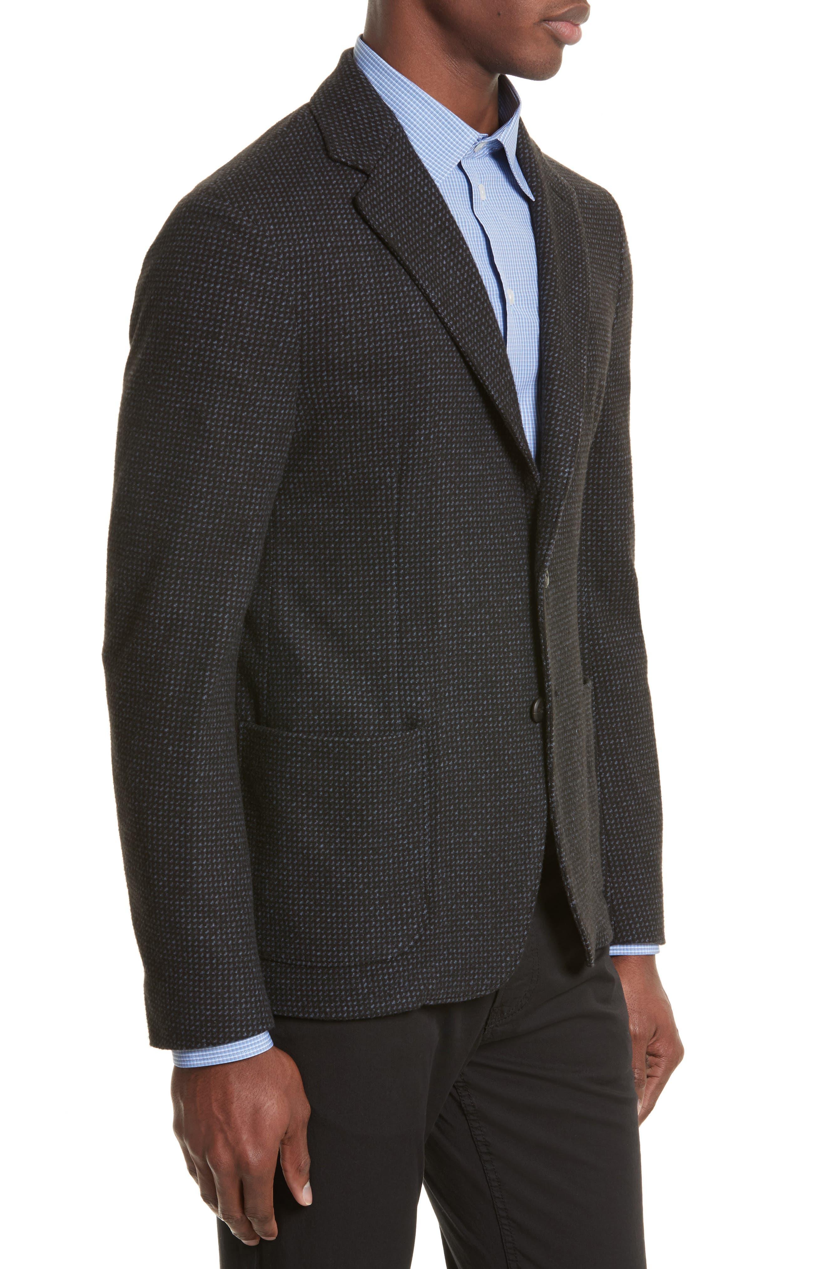 Alternate Image 3  - Emporio Armani Techno Jersey Jacket