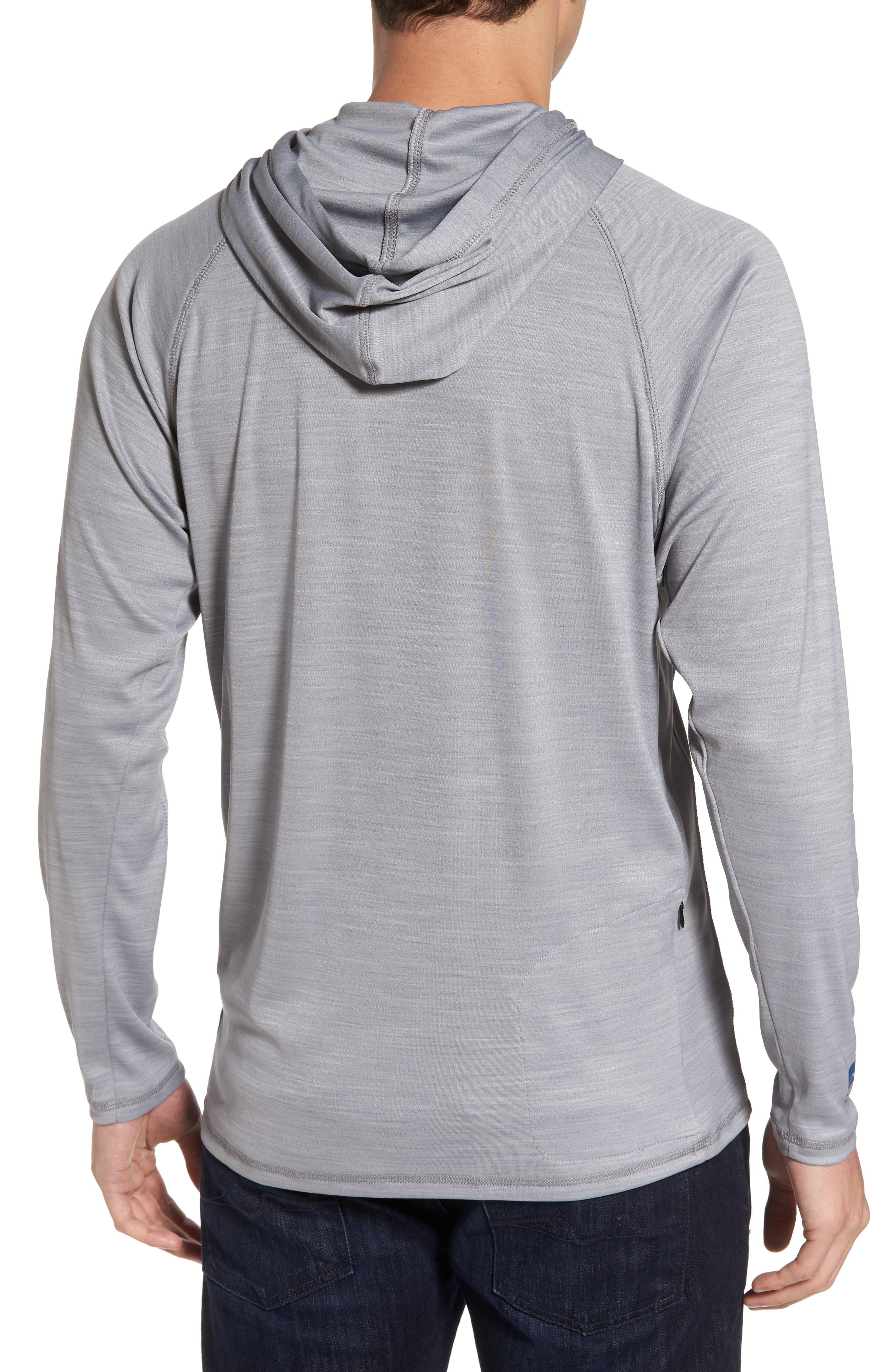 Alternate Image 2  - Cova Undercover Hooded Long Sleeve Performance T-Shirt