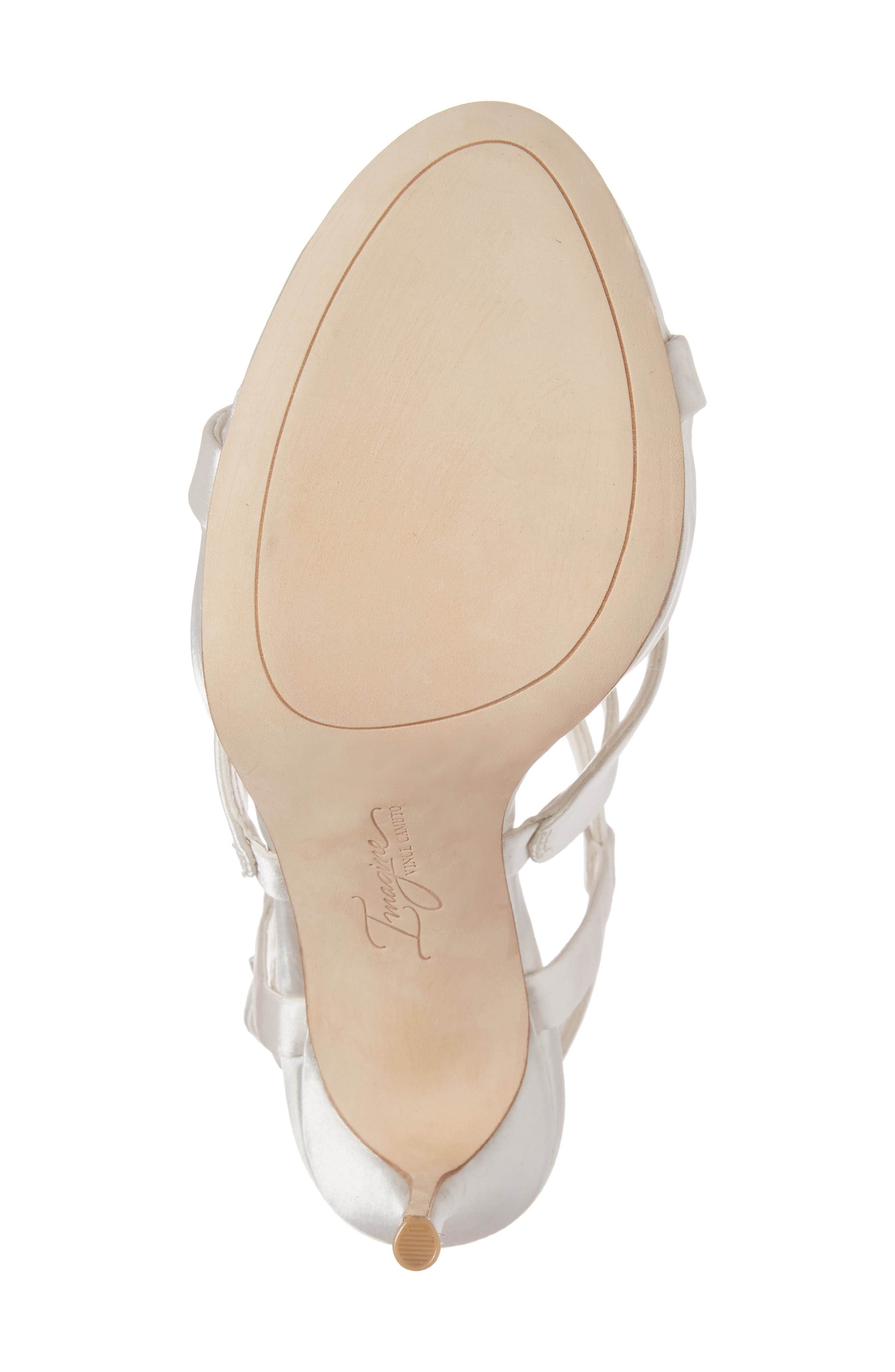 Daija Sandal,                             Alternate thumbnail 6, color,                             Ivory Satin