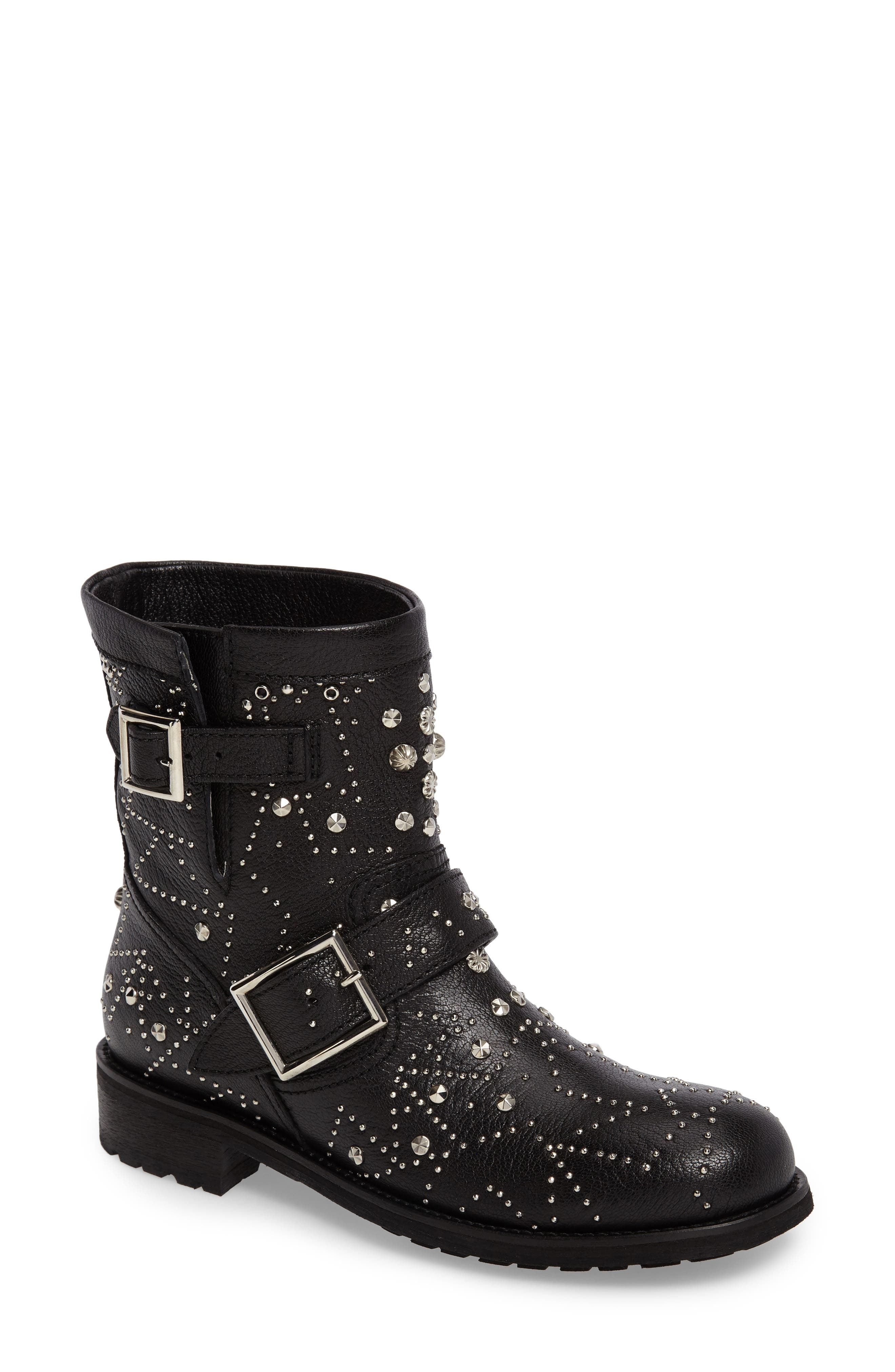 Alternate Image 1 Selected - Jimmy Choo Youth Combat Boot (Women)