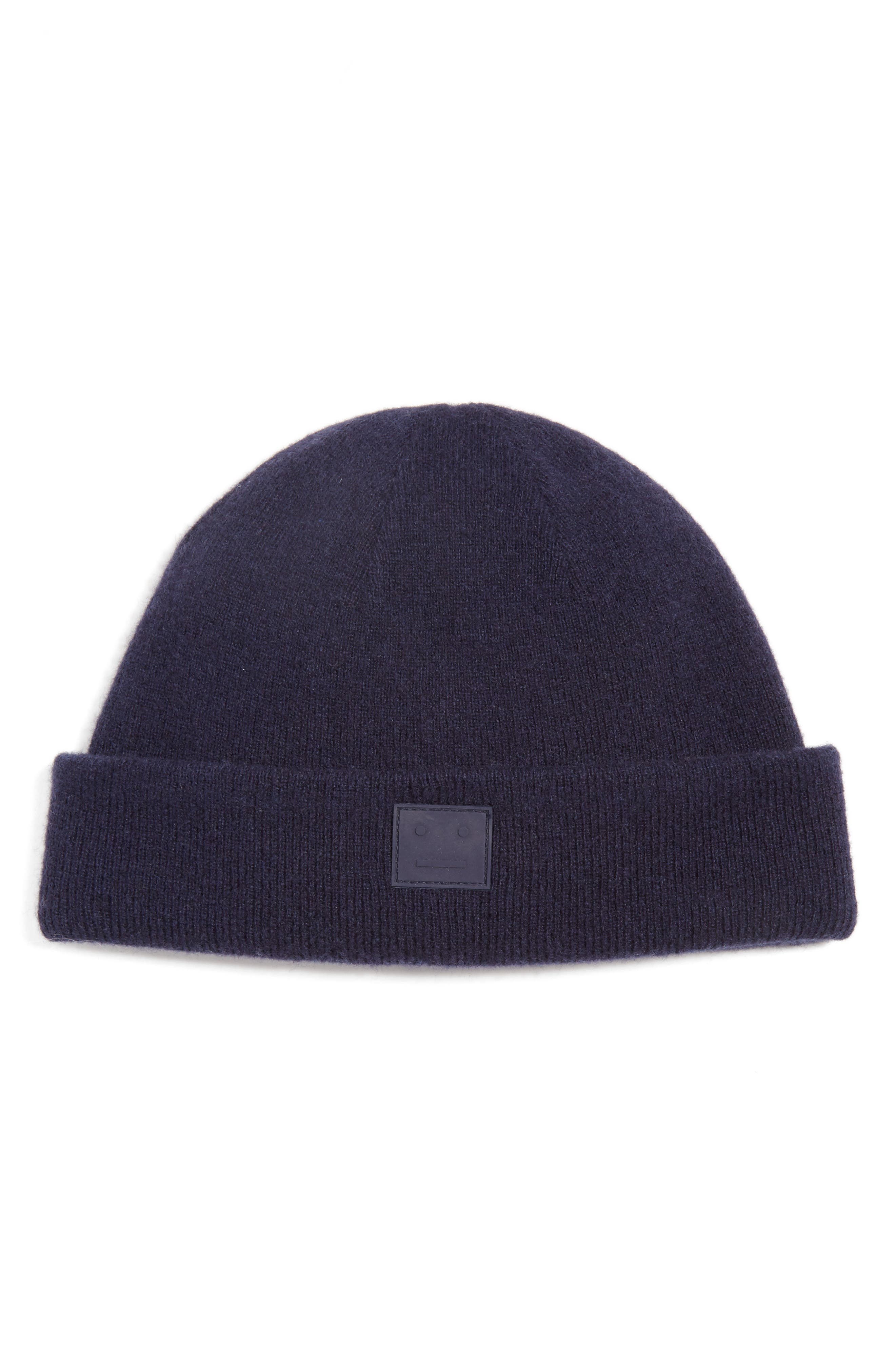 ACNE STUDIOS Knut Face Patch Wool Beanie