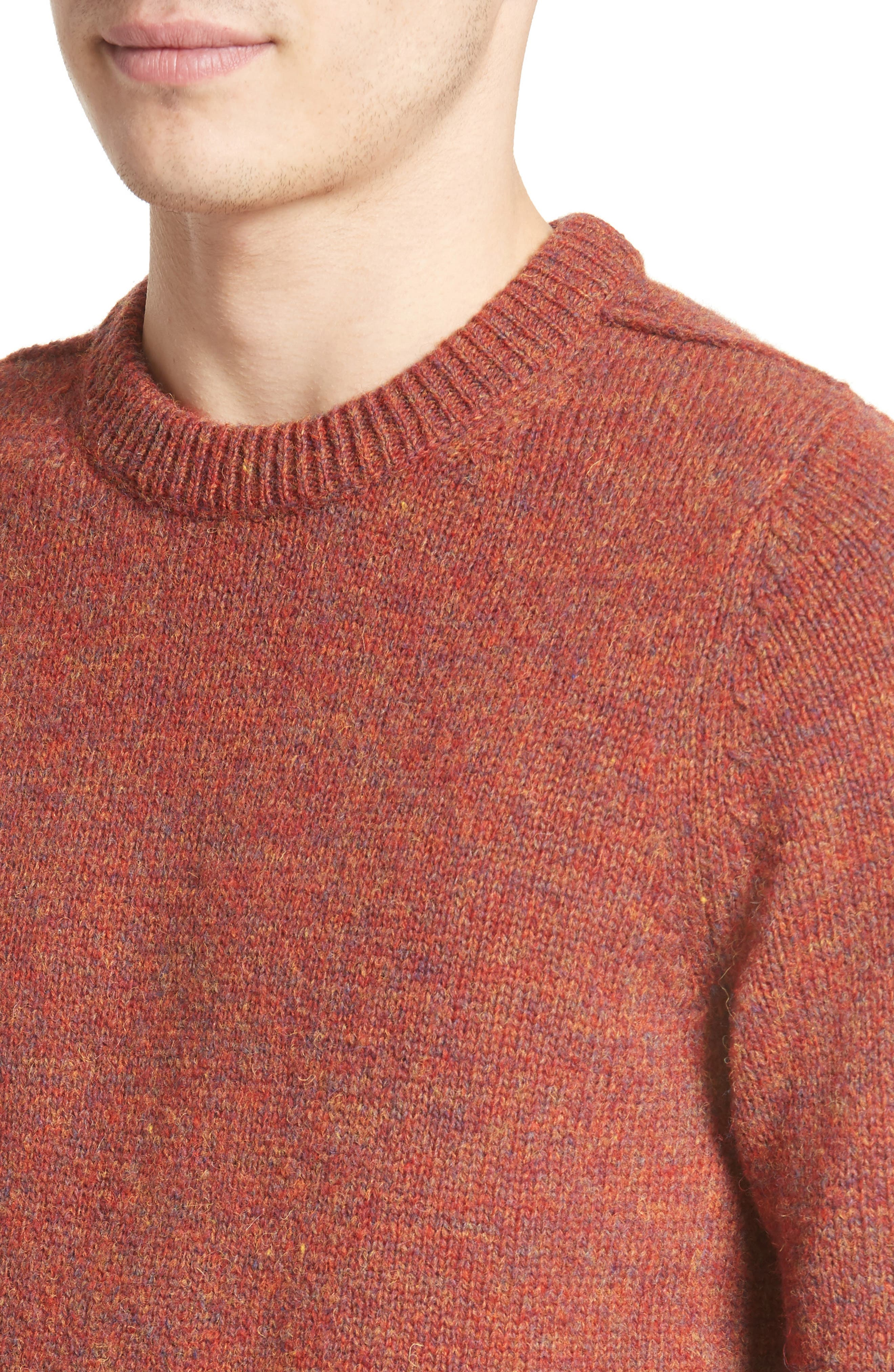 Alternate Image 4  - ACNE Studios Kai Mélange Wool Sweater
