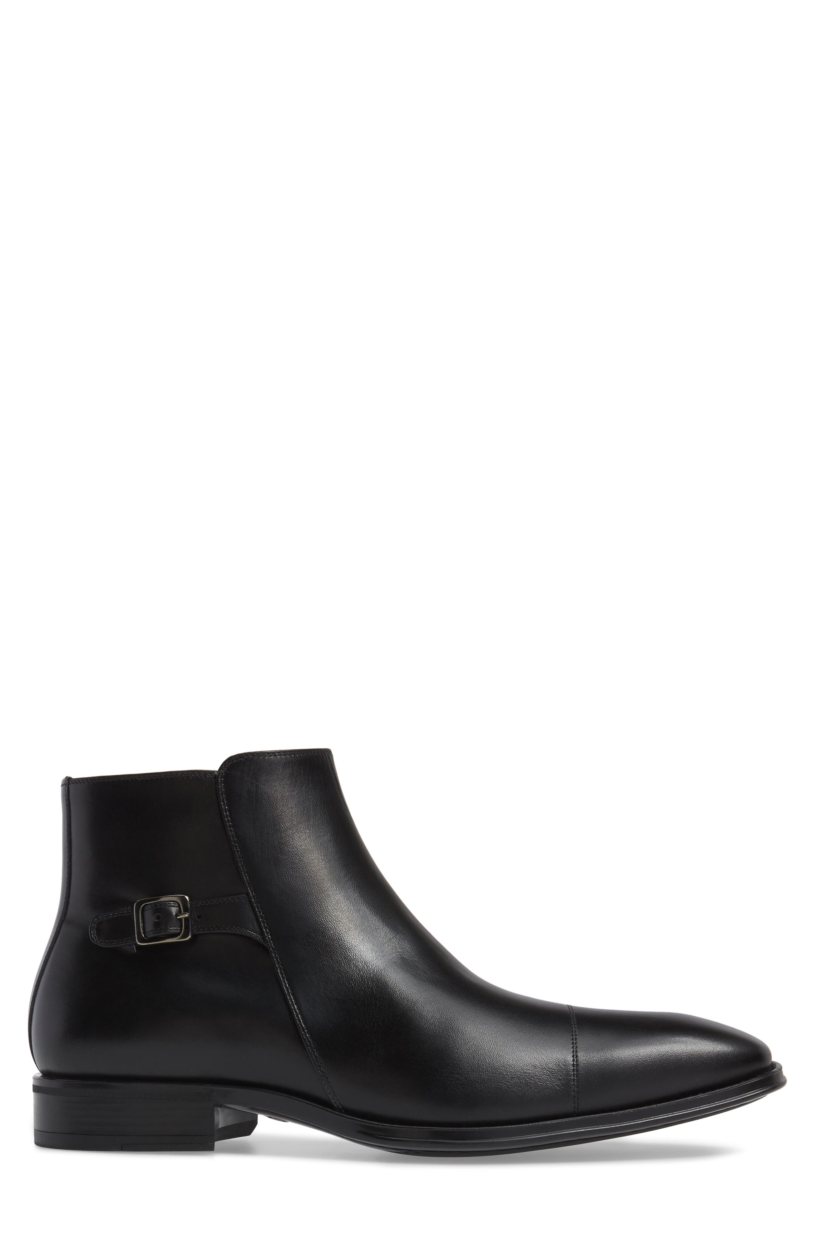 Casares II Zip Boot,                             Alternate thumbnail 3, color,                             Black
