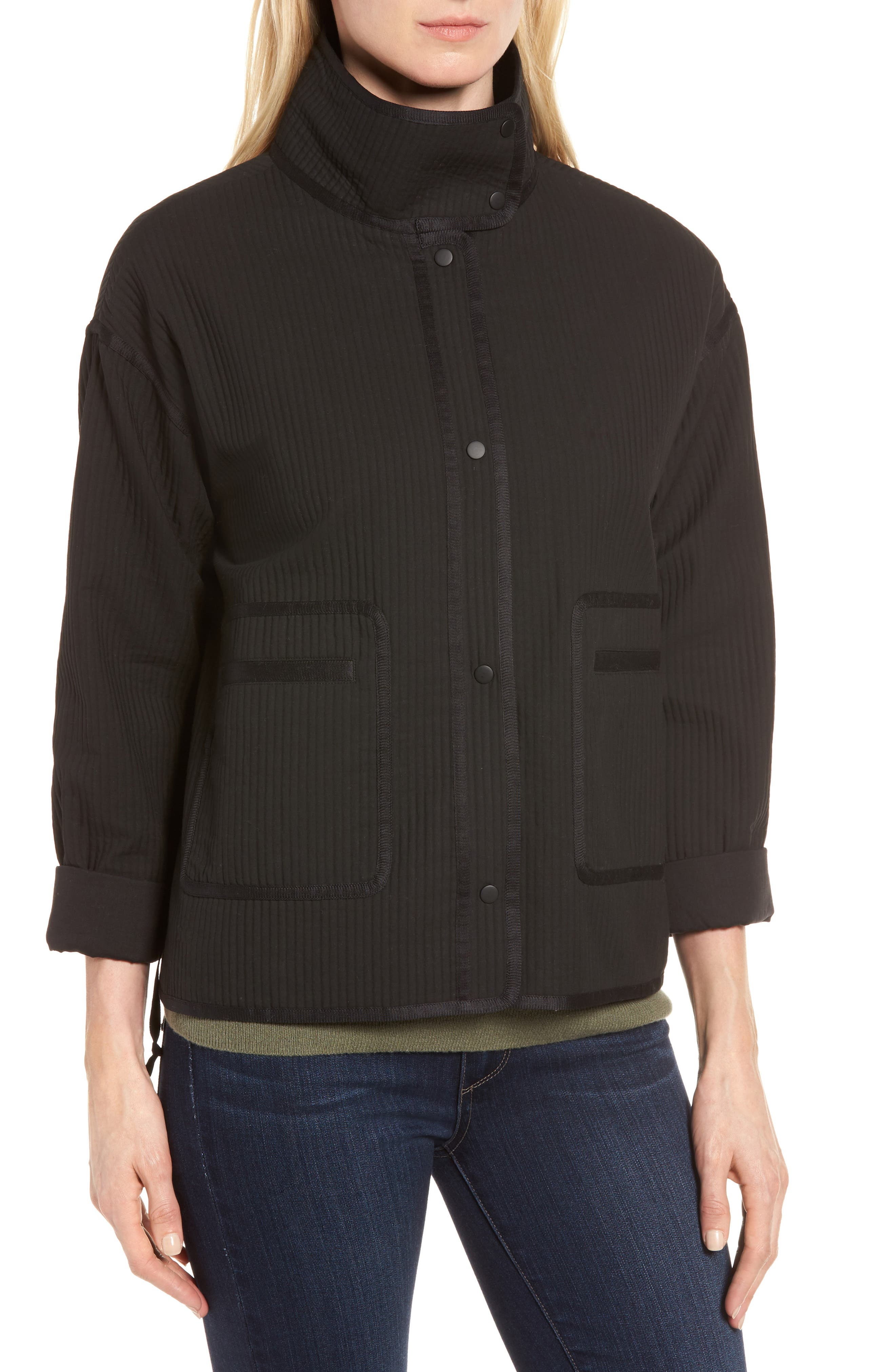 Alternate Image 4  - Nordstrom Signature Ottoman Knit Jacket