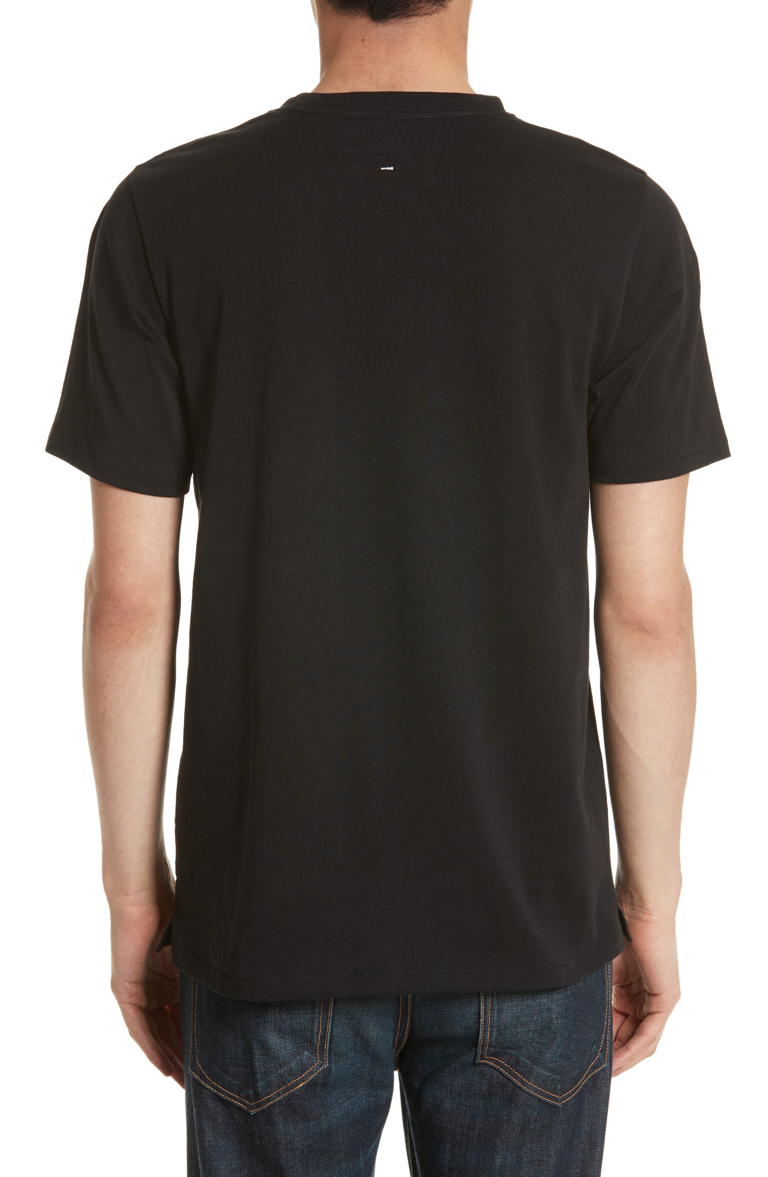 Alternate Image 2  - rag & bone Camo Diamond Graphic T-Shirt