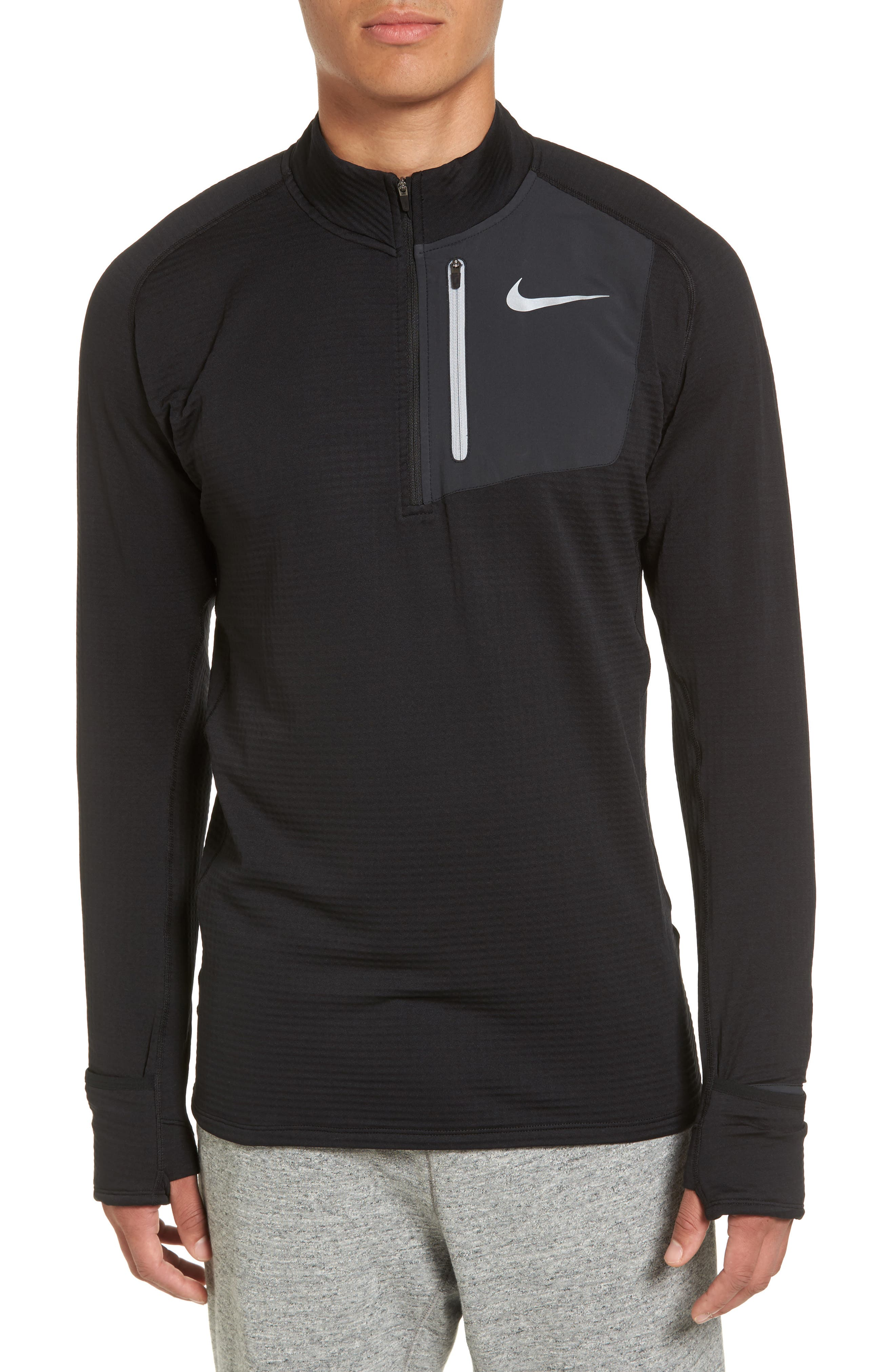 Nike ThermaSphere Quarter-Zip Running Pullover