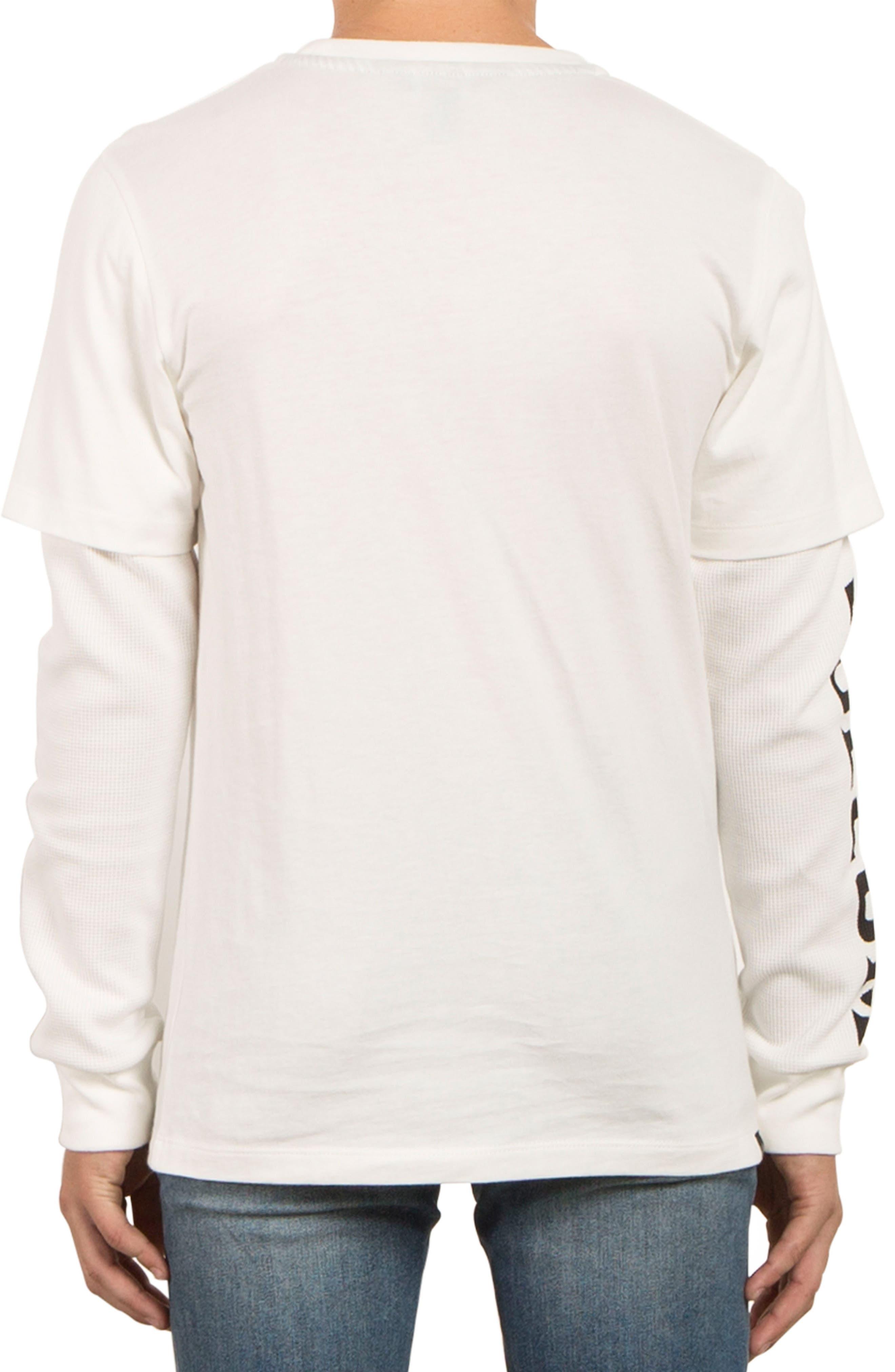 Alternate Image 2  - Volcom Easton Long Sleeve T-Shirt (Big Boys)