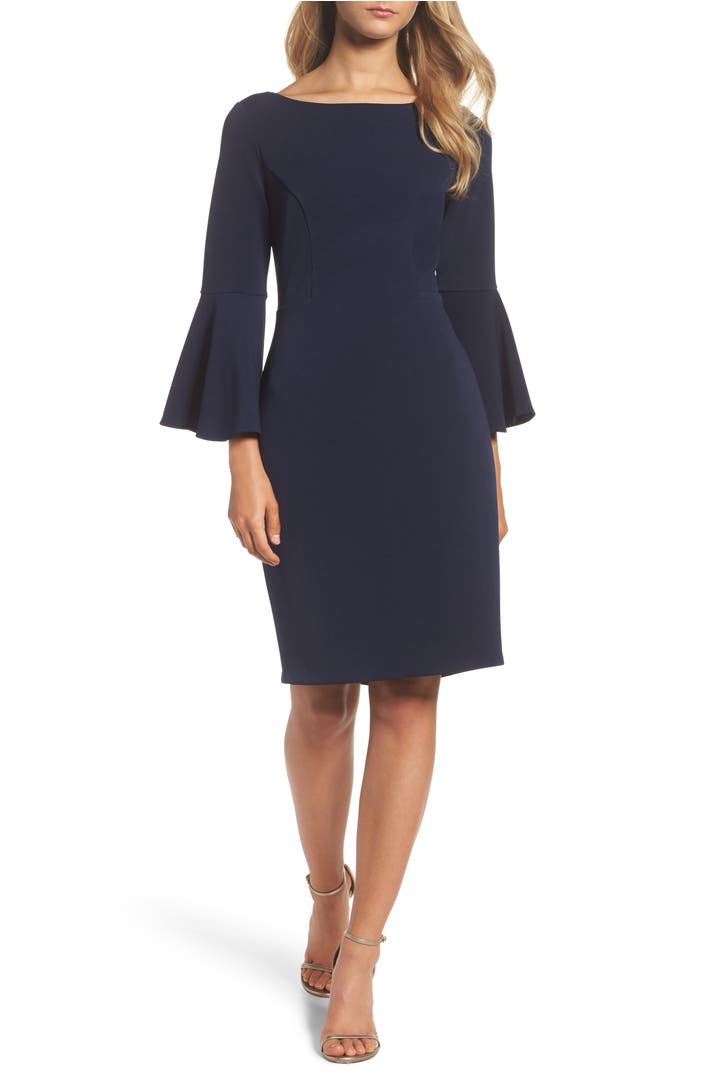 Vince Camuto Bell Sleeve Sheath Dress Nordstrom