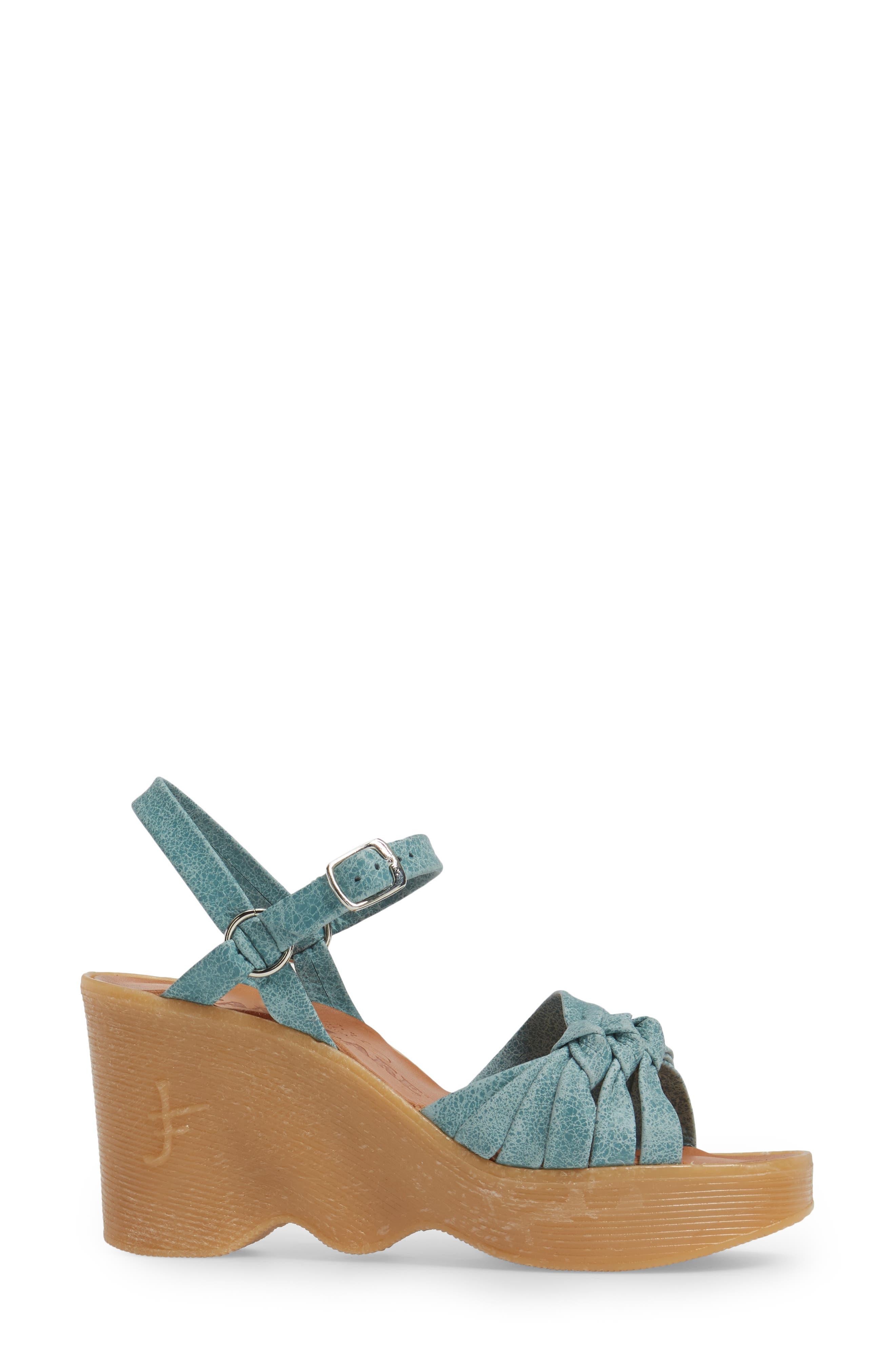 Alternate Image 3  - Famolare Knot So Fast Wedge Sandal (Women)