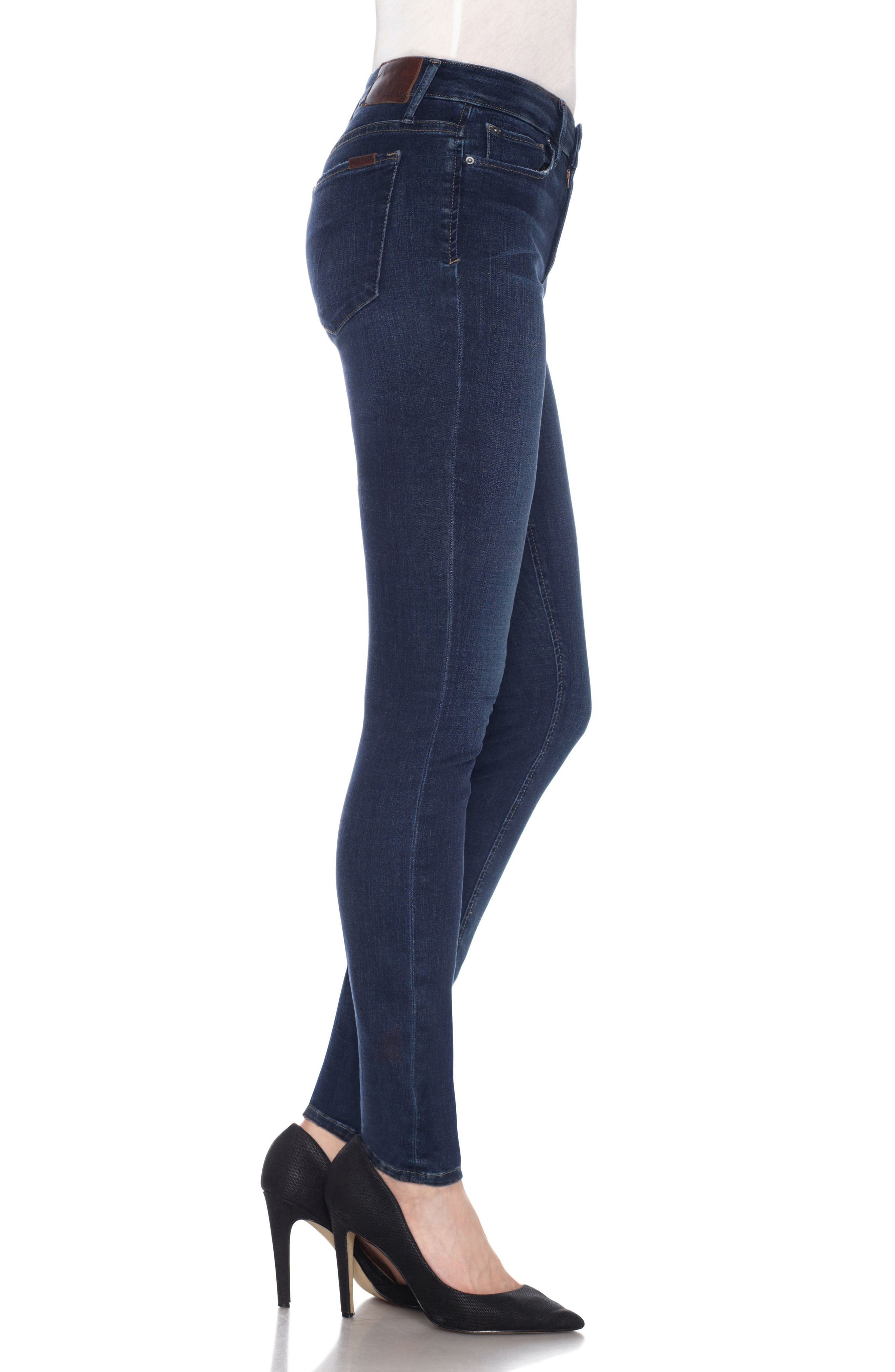 Flawless Twiggy Skinny Jeans,                             Alternate thumbnail 3, color,                             Dima