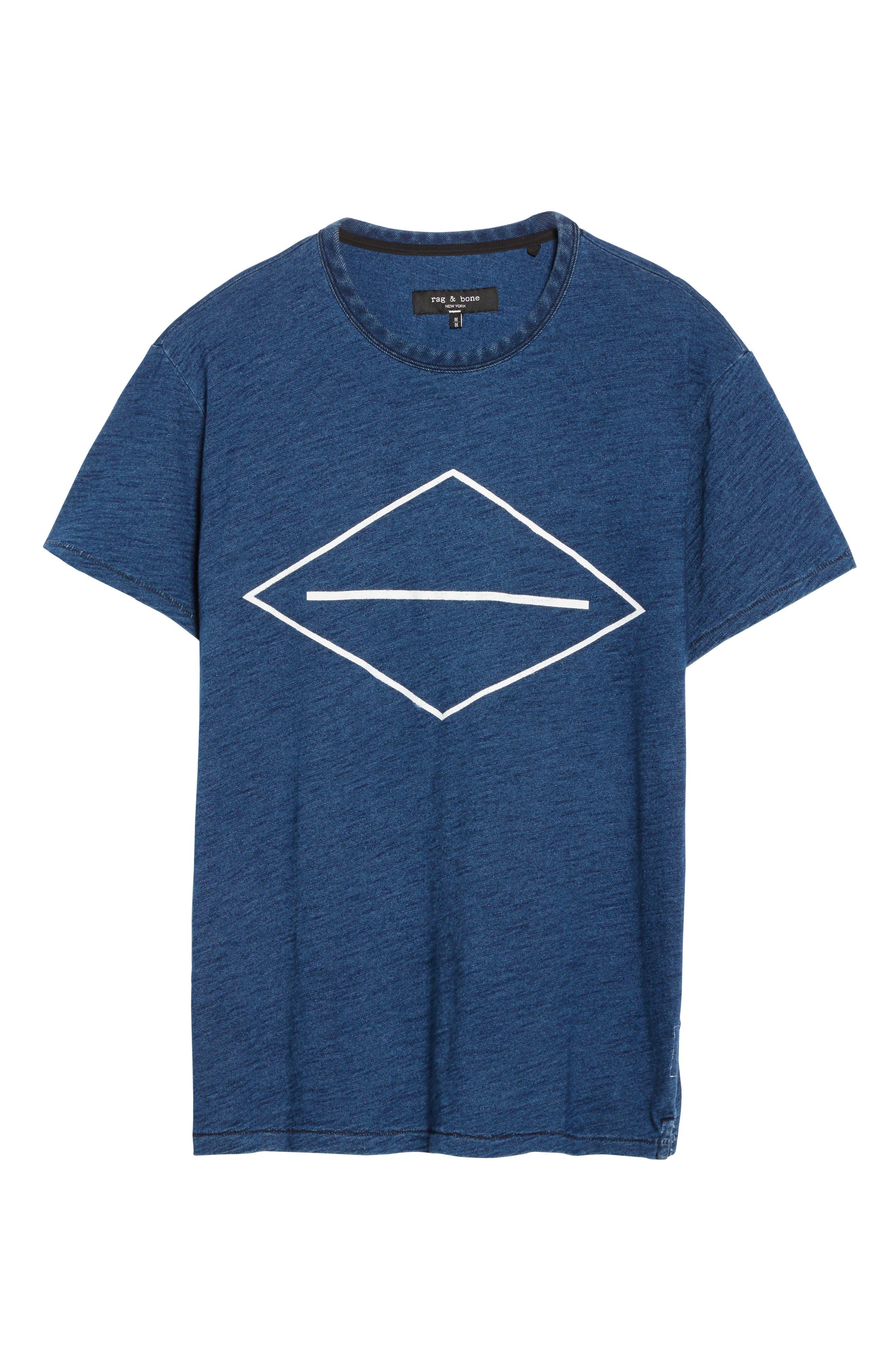 Graphic T-Shirt,                             Alternate thumbnail 6, color,                             Indigo