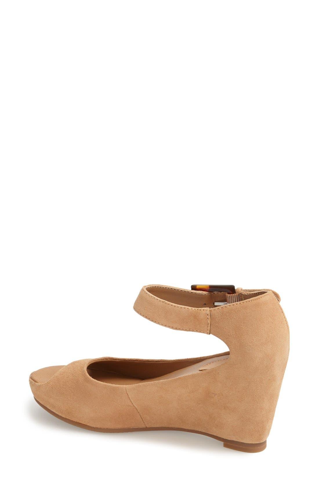 Alternate Image 2  - Johnston & Murphy 'Tricia' Ankle Strap Sandal