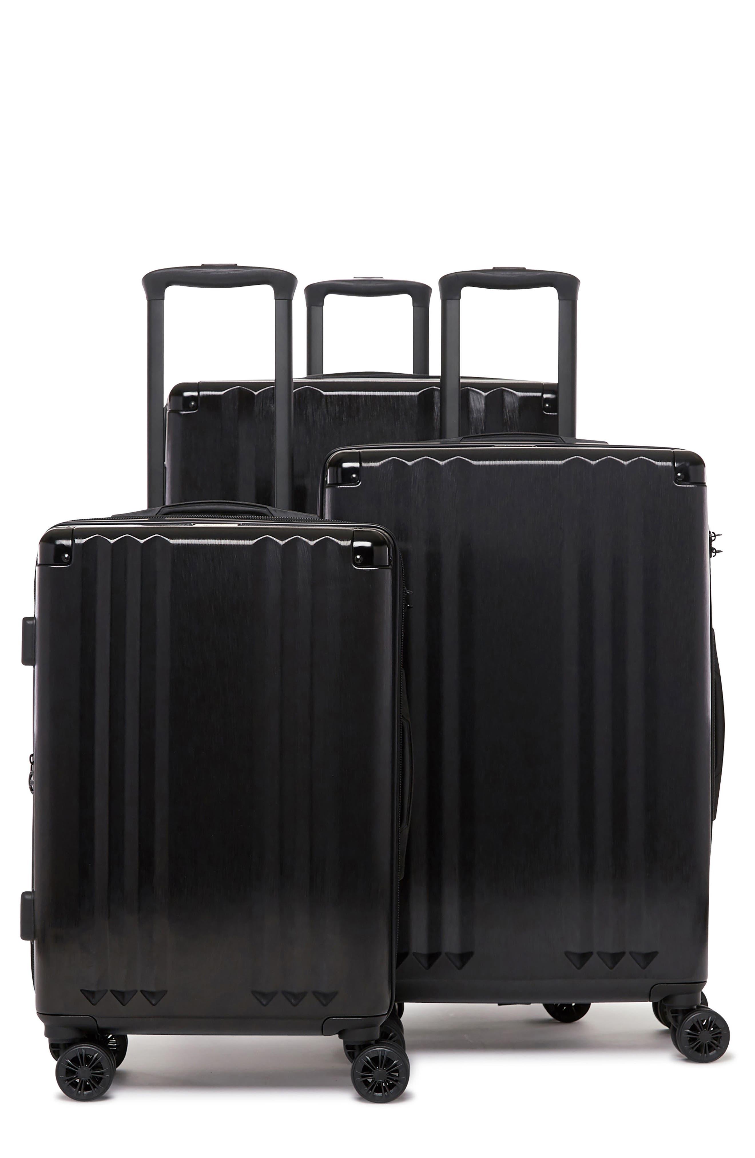 CALPAK Ambeur 3-Piece Metallic Luggage Set