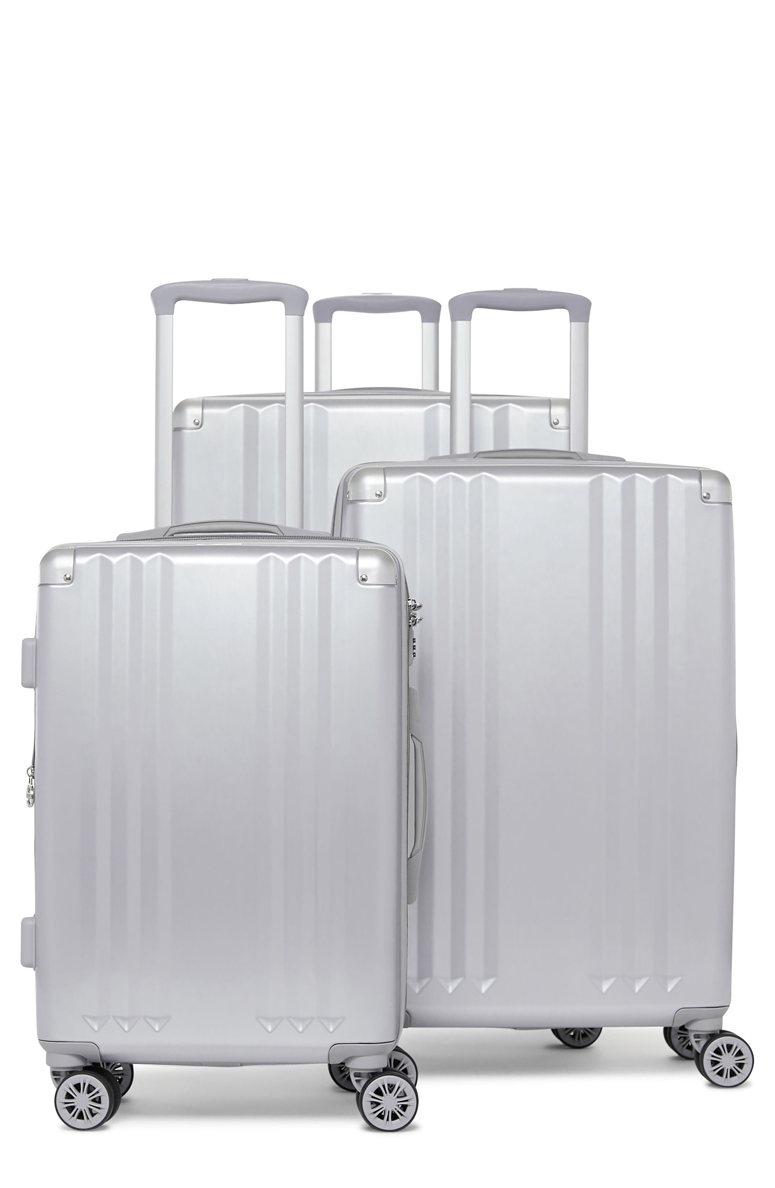 CALPAK Ambeur 3-Piece Metallic Luggage Set