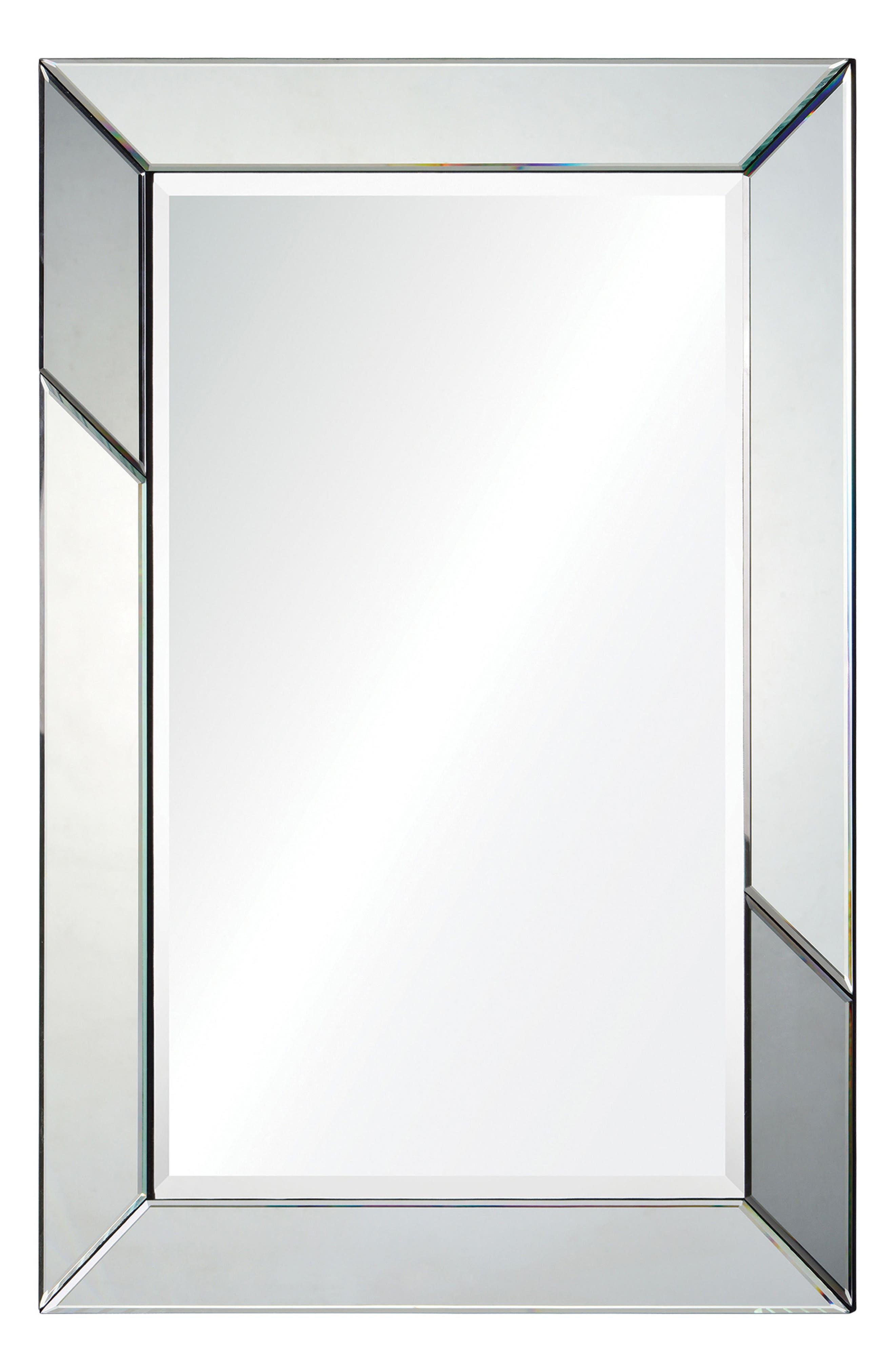 Rumba Mirror,                         Main,                         color, Silver Mirror/ Grey Mirror