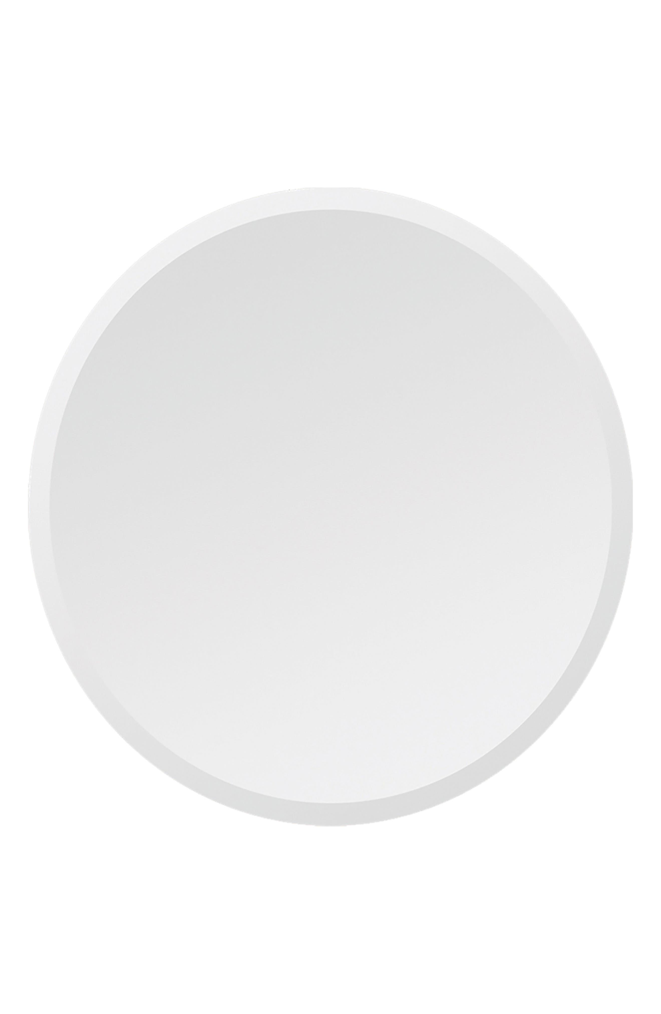 Kiko Round Mirror,                         Main,                         color, Clear