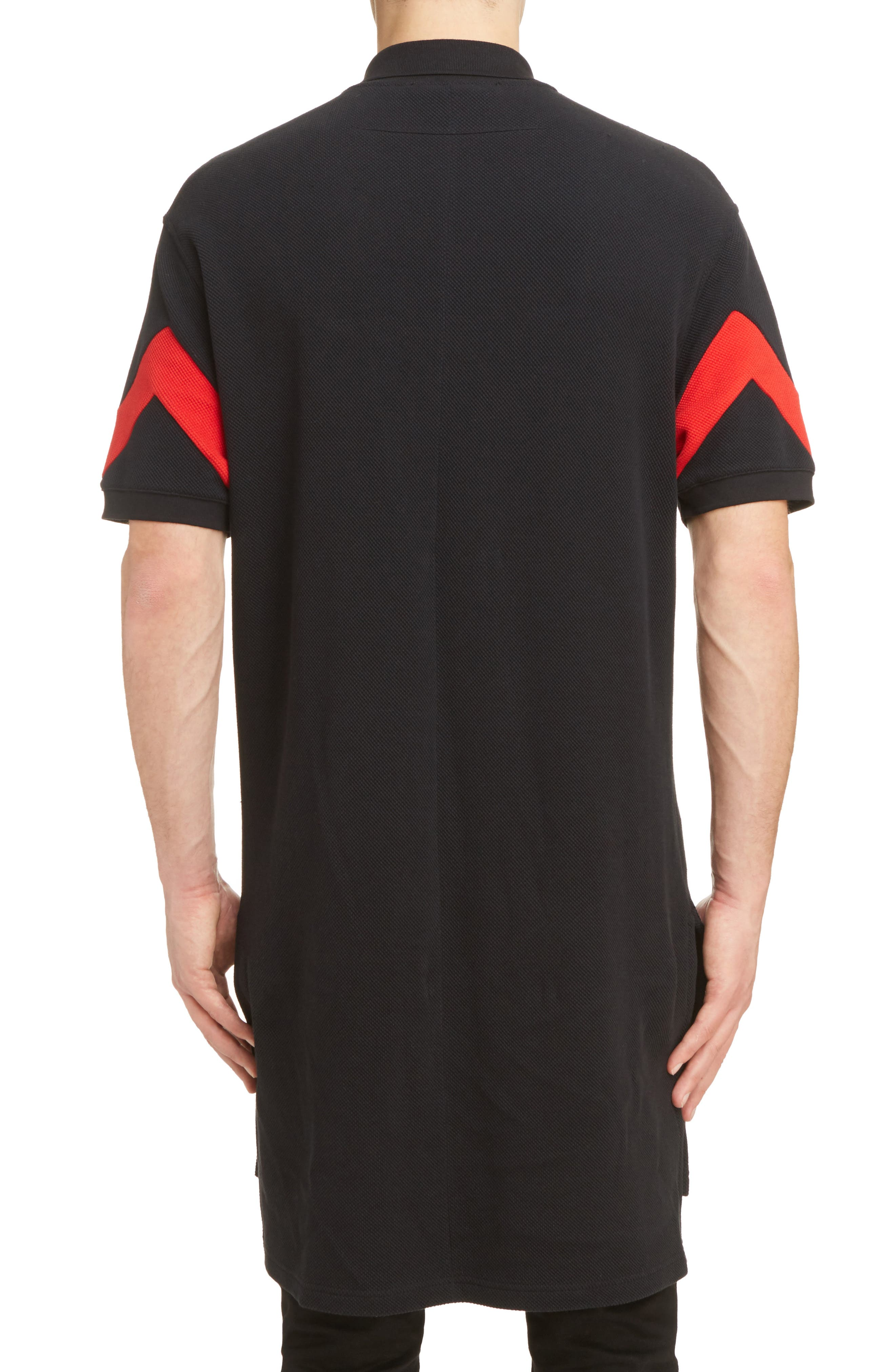 Alternate Image 2  - Givenchy Cuban Fit Stripe Sleeve Polo