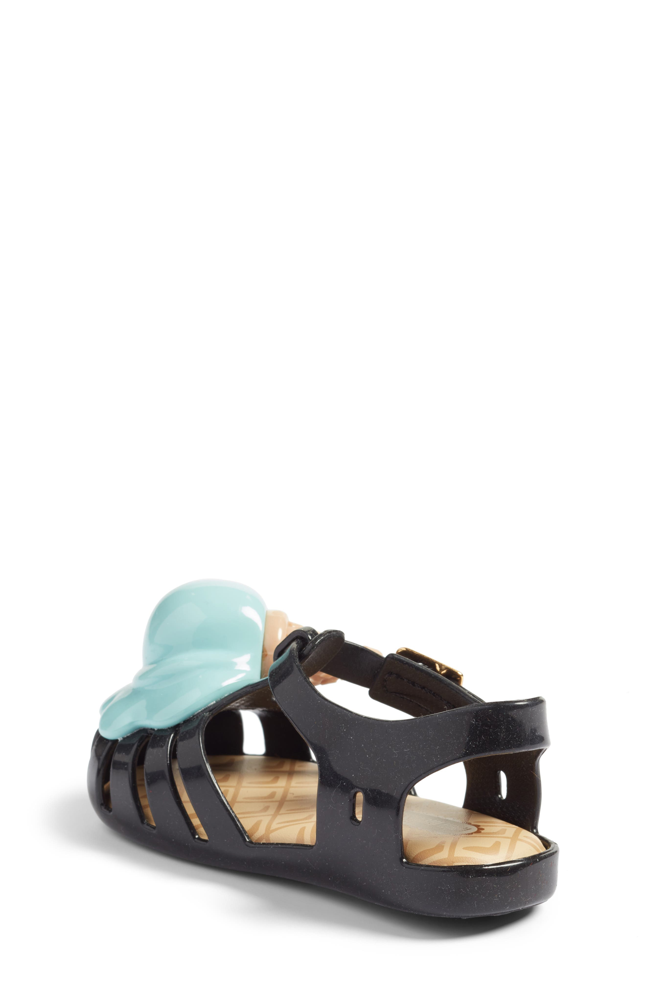 Alternate Image 2  - Mini Melissa Aranha X Sandal (Walker & Toddler)