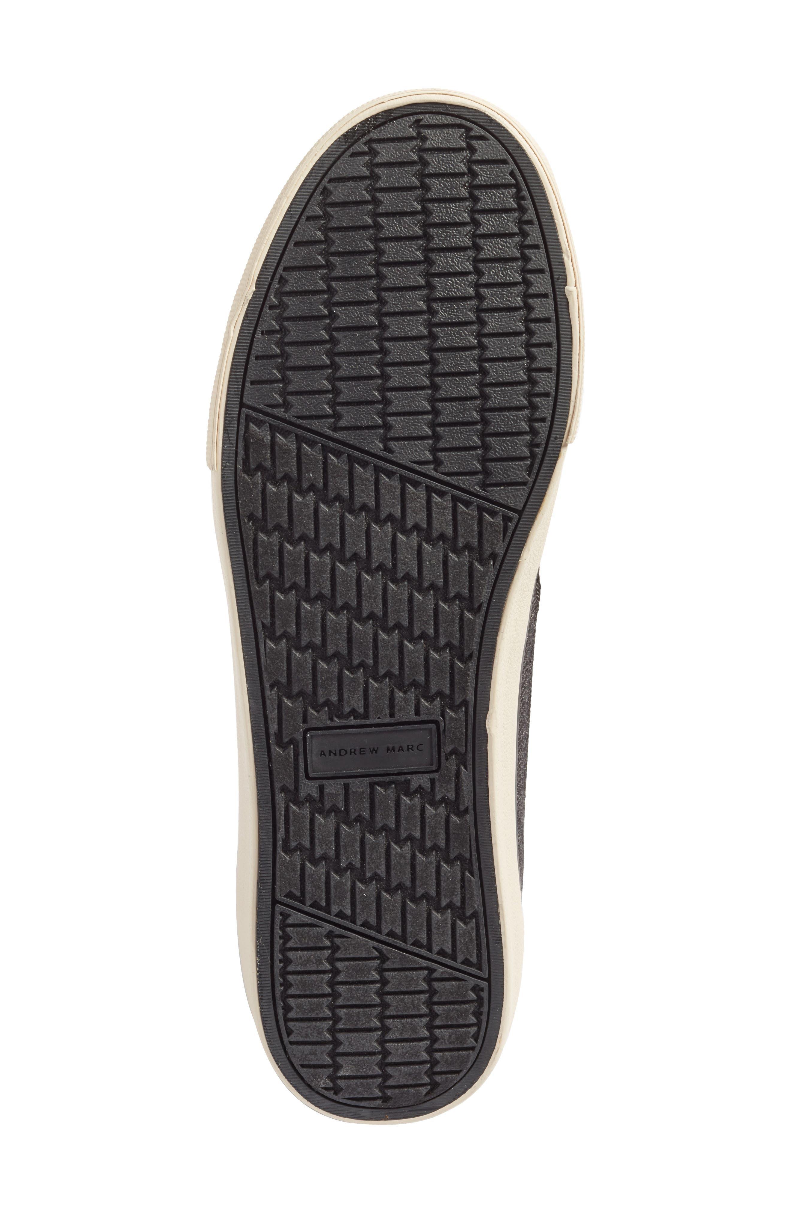 Morris Sneaker,                             Alternate thumbnail 6, color,                             Black/ Bone