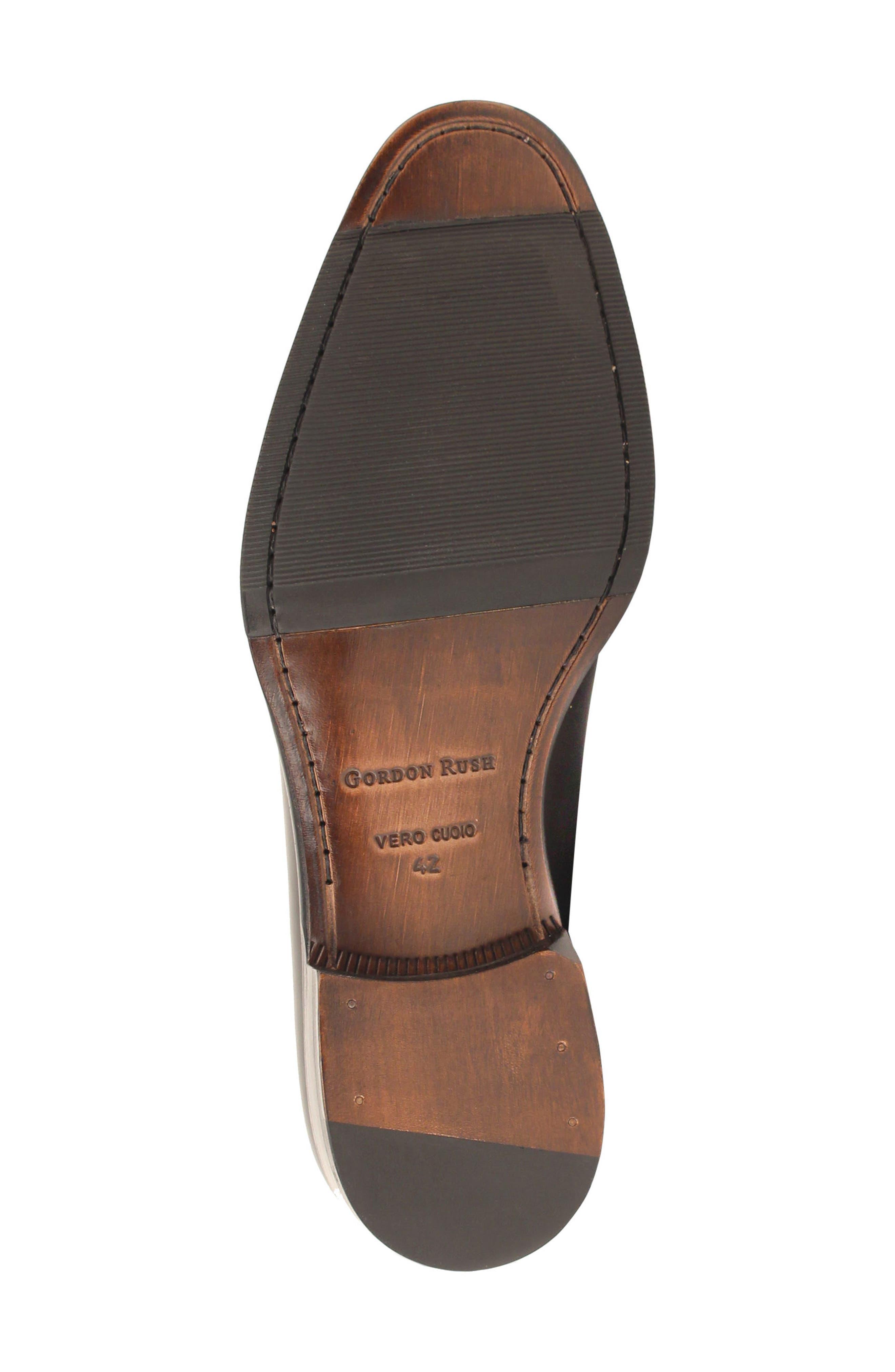 Brighton II Venetian Loafer,                             Alternate thumbnail 6, color,                             Bourbon Leather