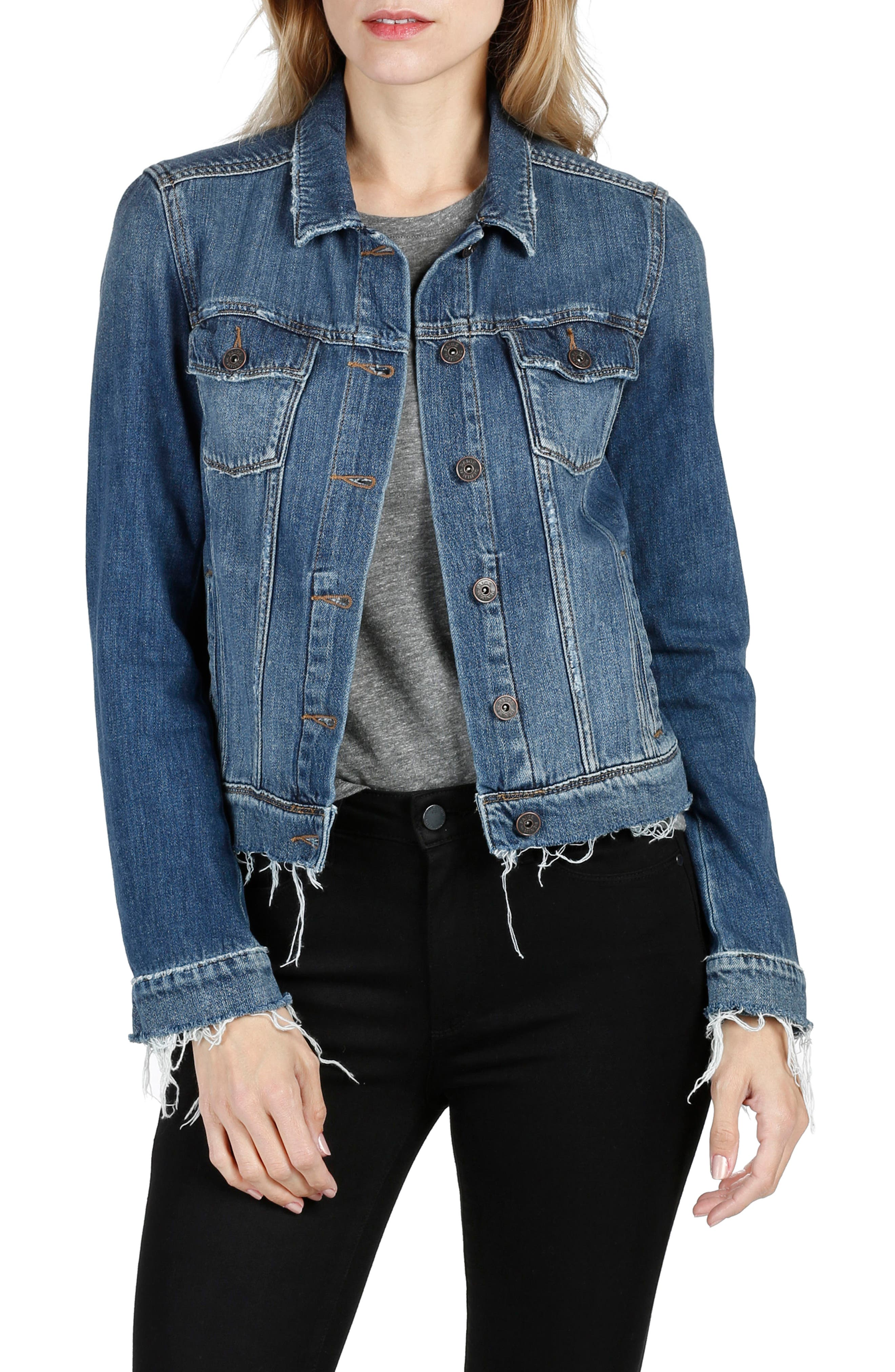 Main Image - PAIGE Rowan Denim Jacket