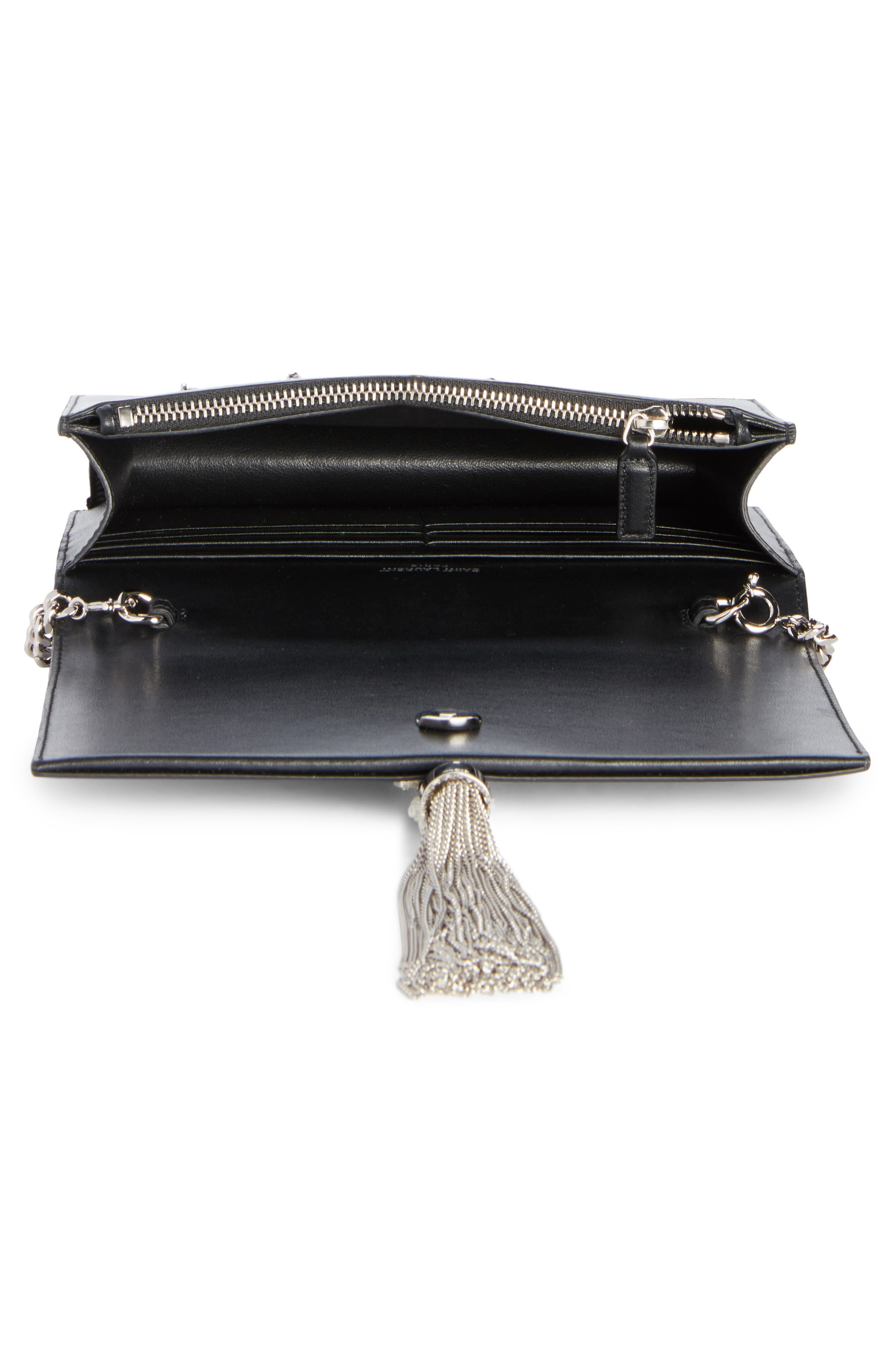 Alternate Image 3  - Saint Laurent Mini Kate Leather Wallet on a Chain
