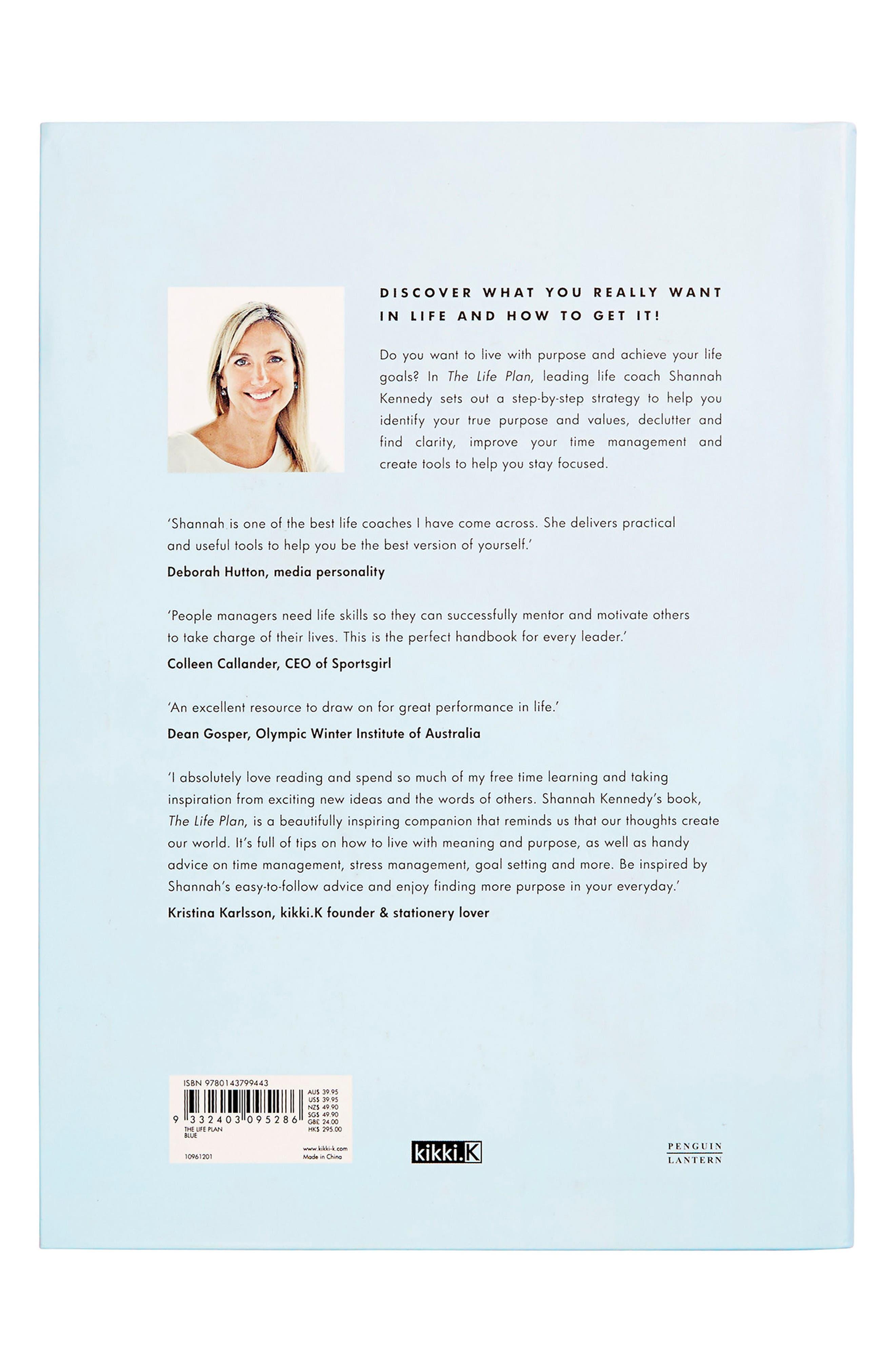 The Life Plan Book,                             Alternate thumbnail 3, color,                             Blue
