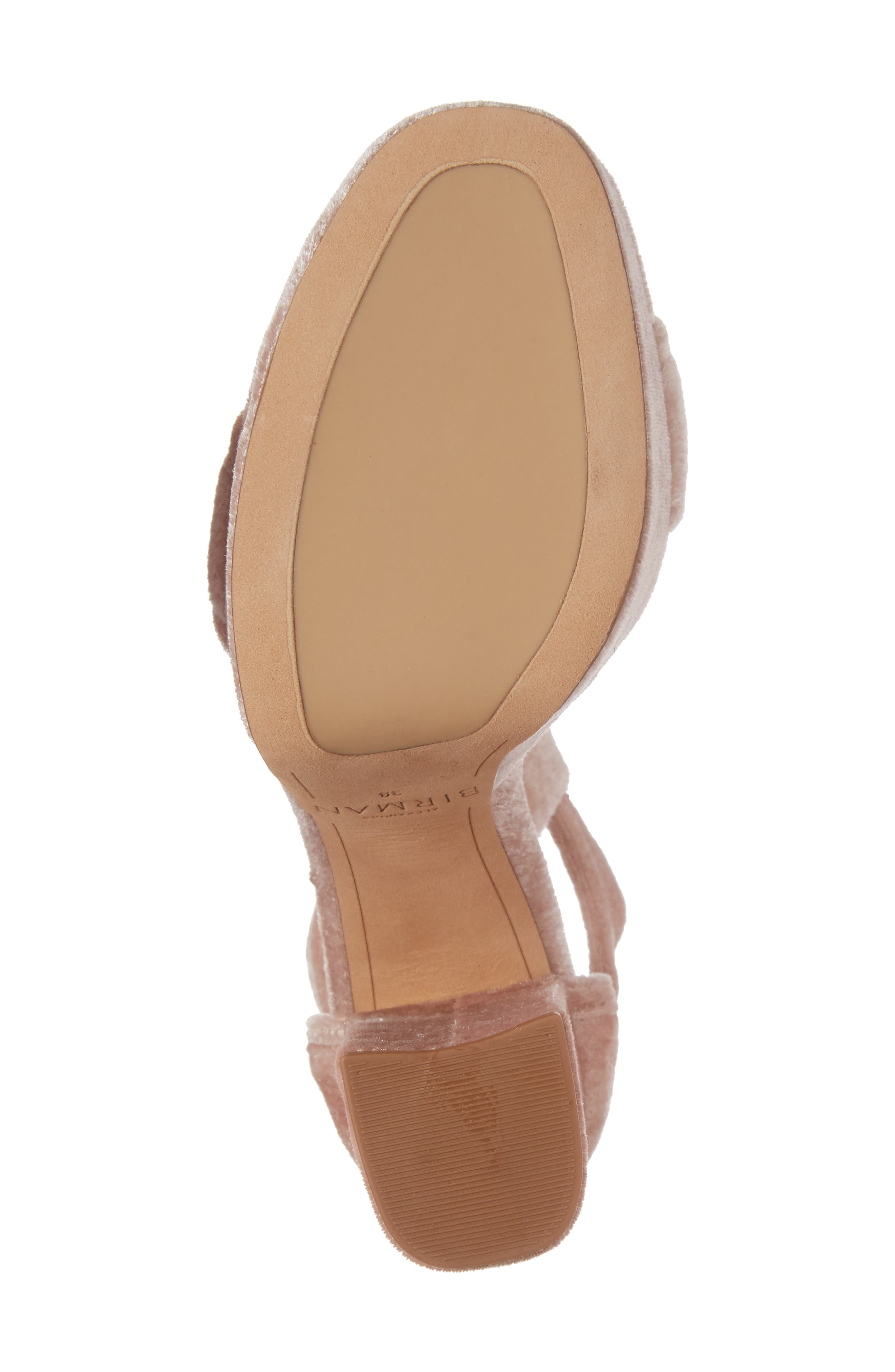 Celine Platform Sandal,                             Alternate thumbnail 5, color,                             Blush