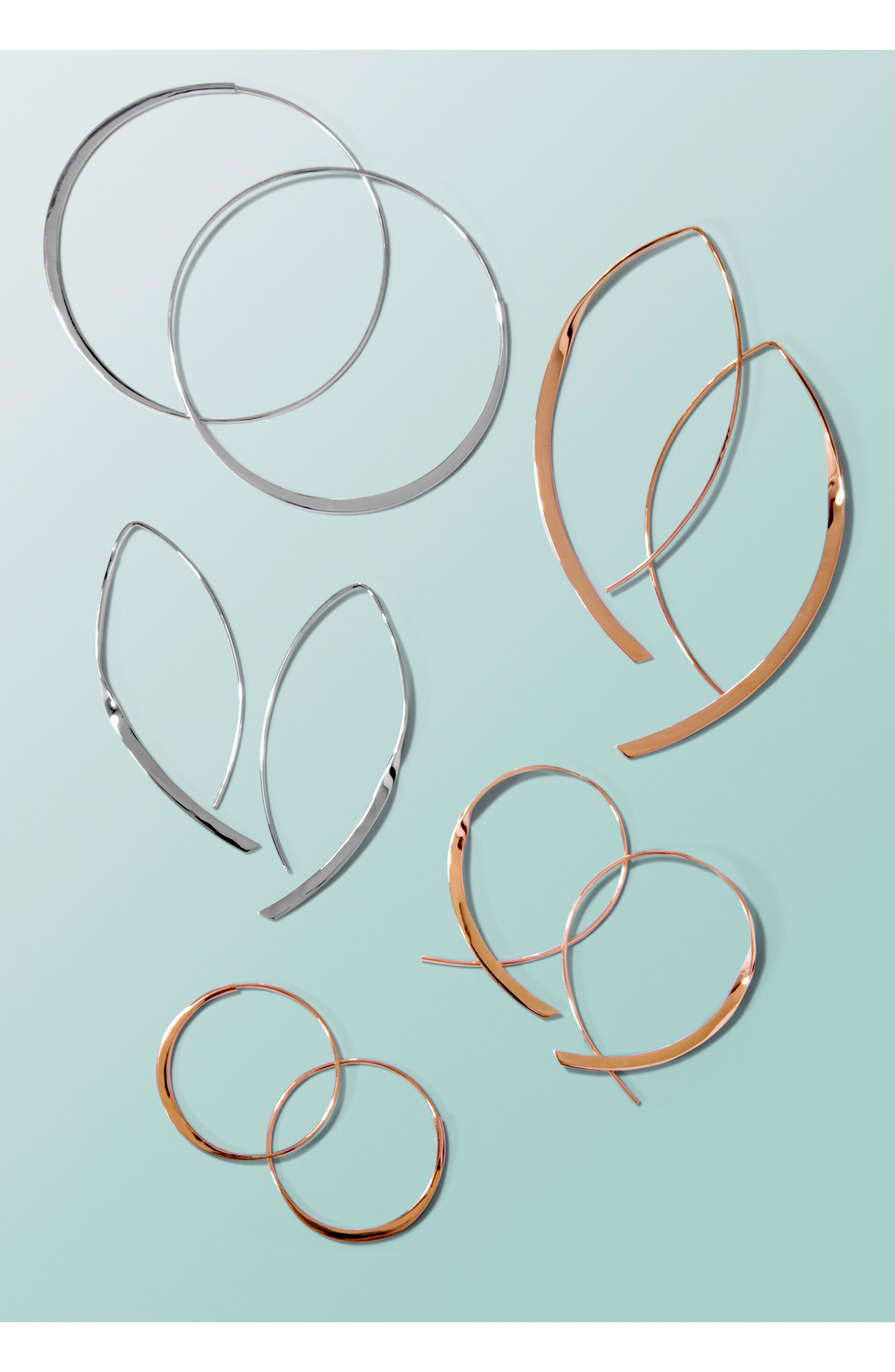 Alternate Image 3  - Lana Jewelry 'Twist Arch' Small Hoop Earrings