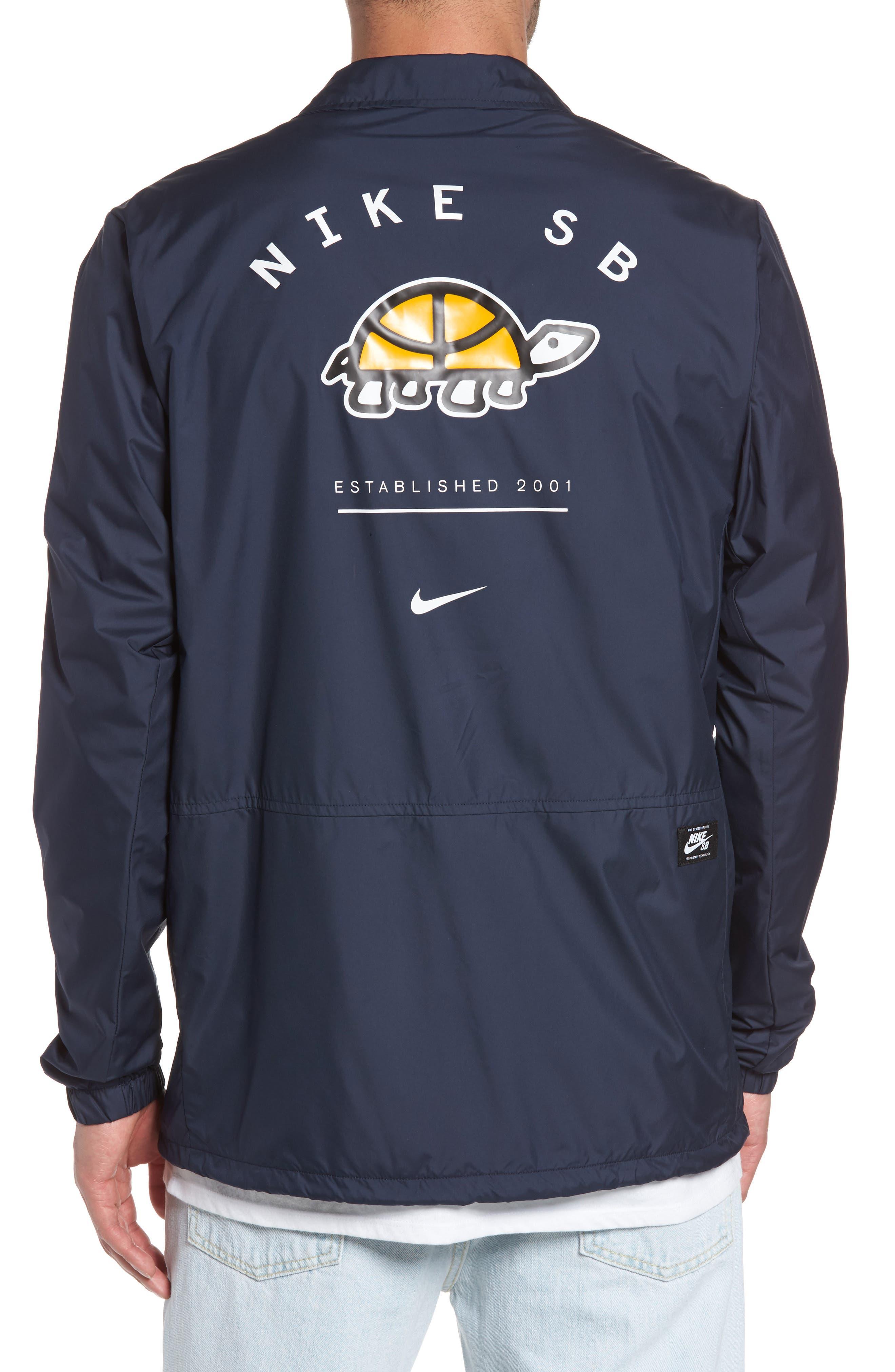 Shield Coach's Jacket,                             Alternate thumbnail 2, color,                             Obsidian