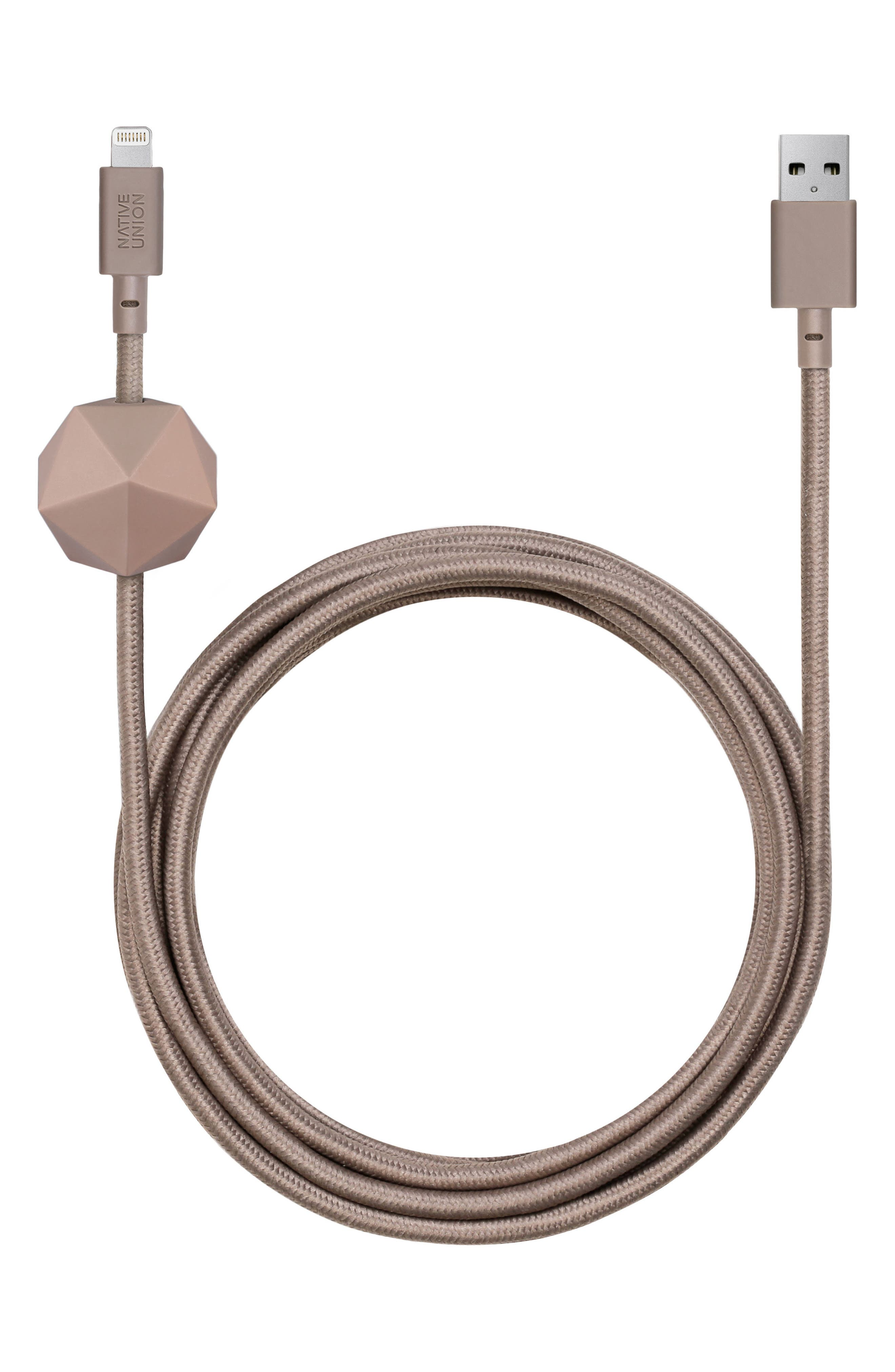 Alternate Image 1 Selected - Native Union 6.5 Foot Anchor Lightning Cable