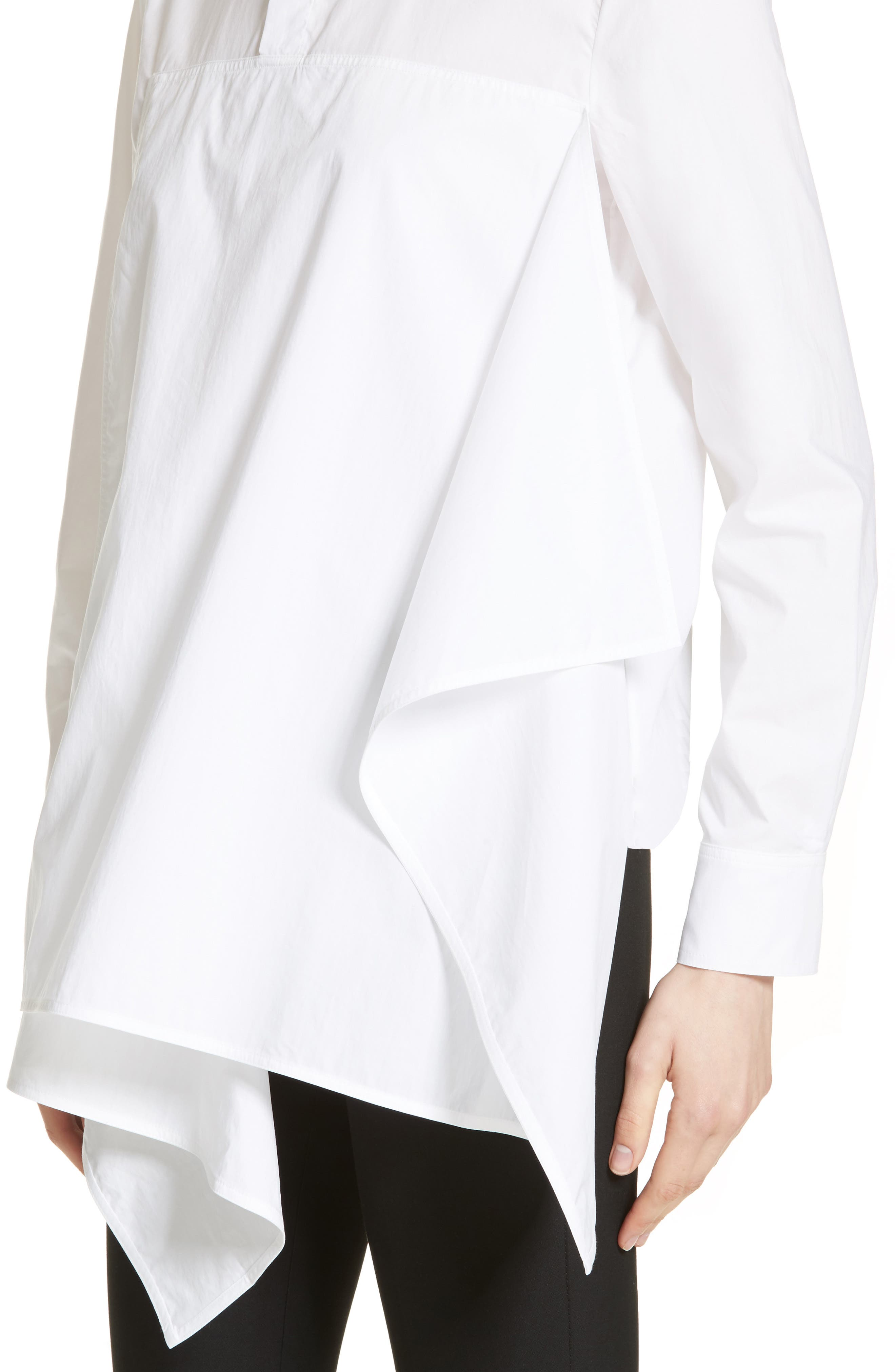 Alternate Image 6  - Marni Draped Cotton Poplin Shirt