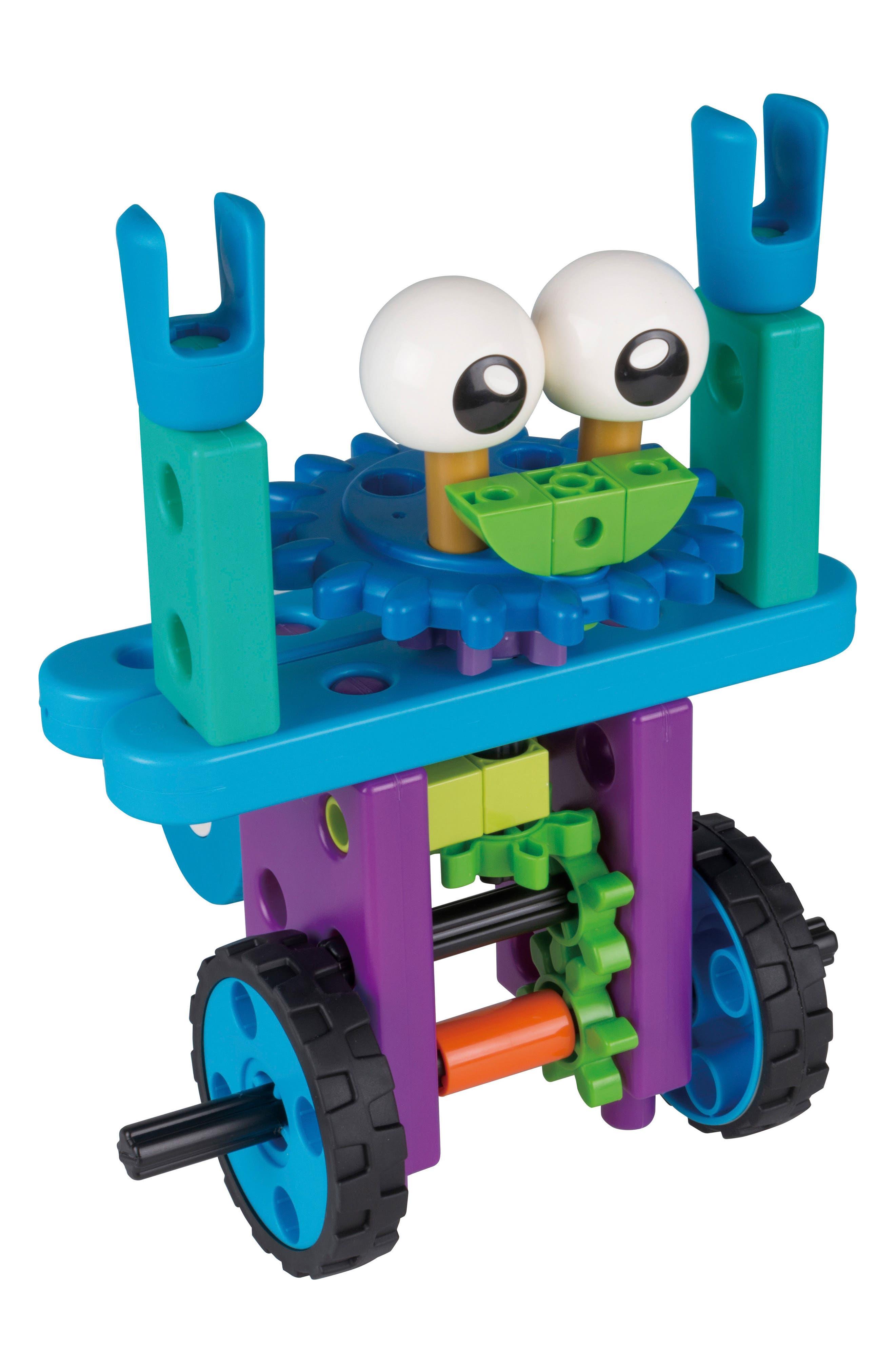 Robot Engineer Building Set & Storybook,                             Alternate thumbnail 5, color,                             Blue