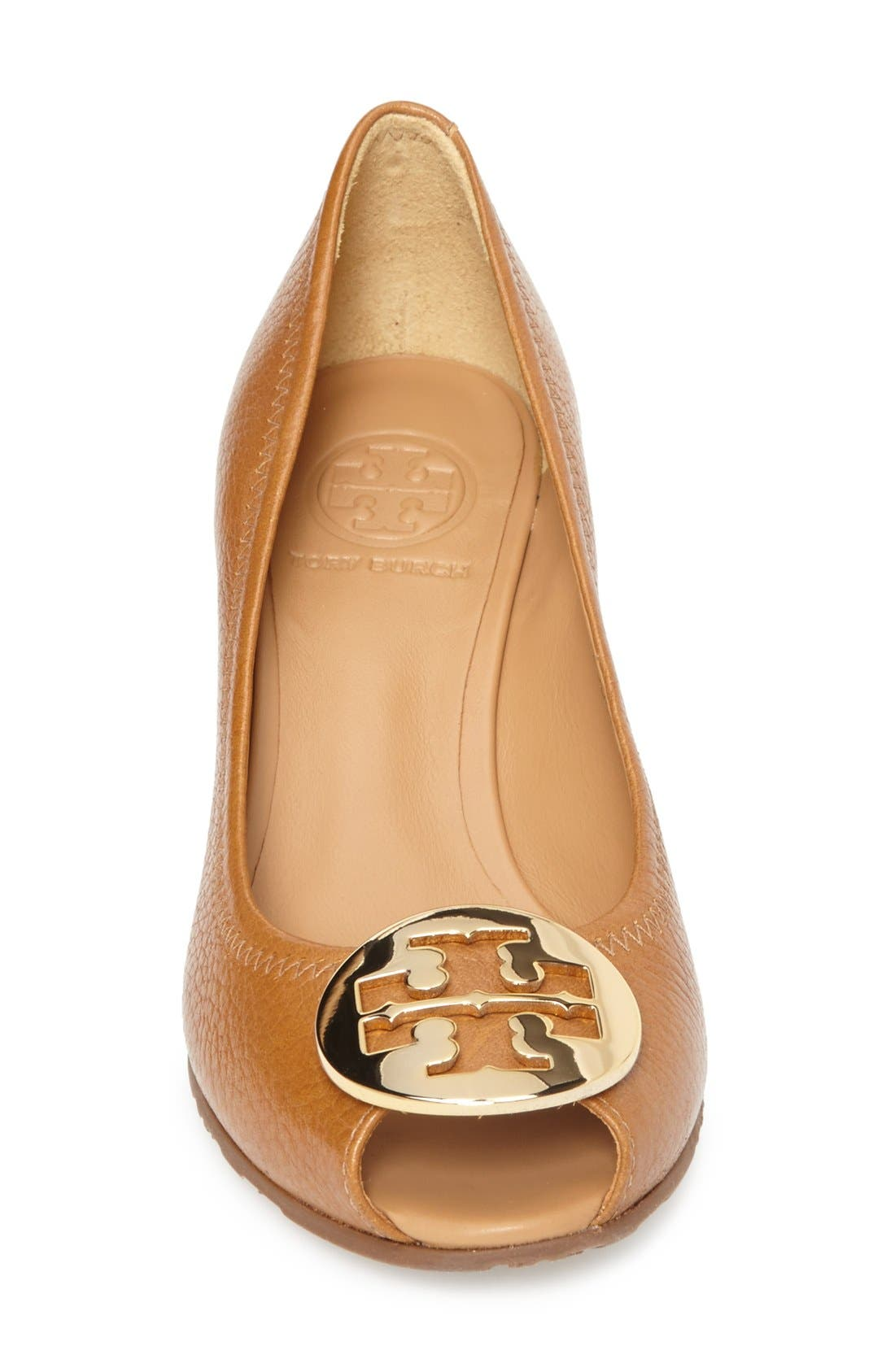 Alternate Image 3  - Tory Burch 'Sally 2' Peep Toe Wedge Pump (Women)