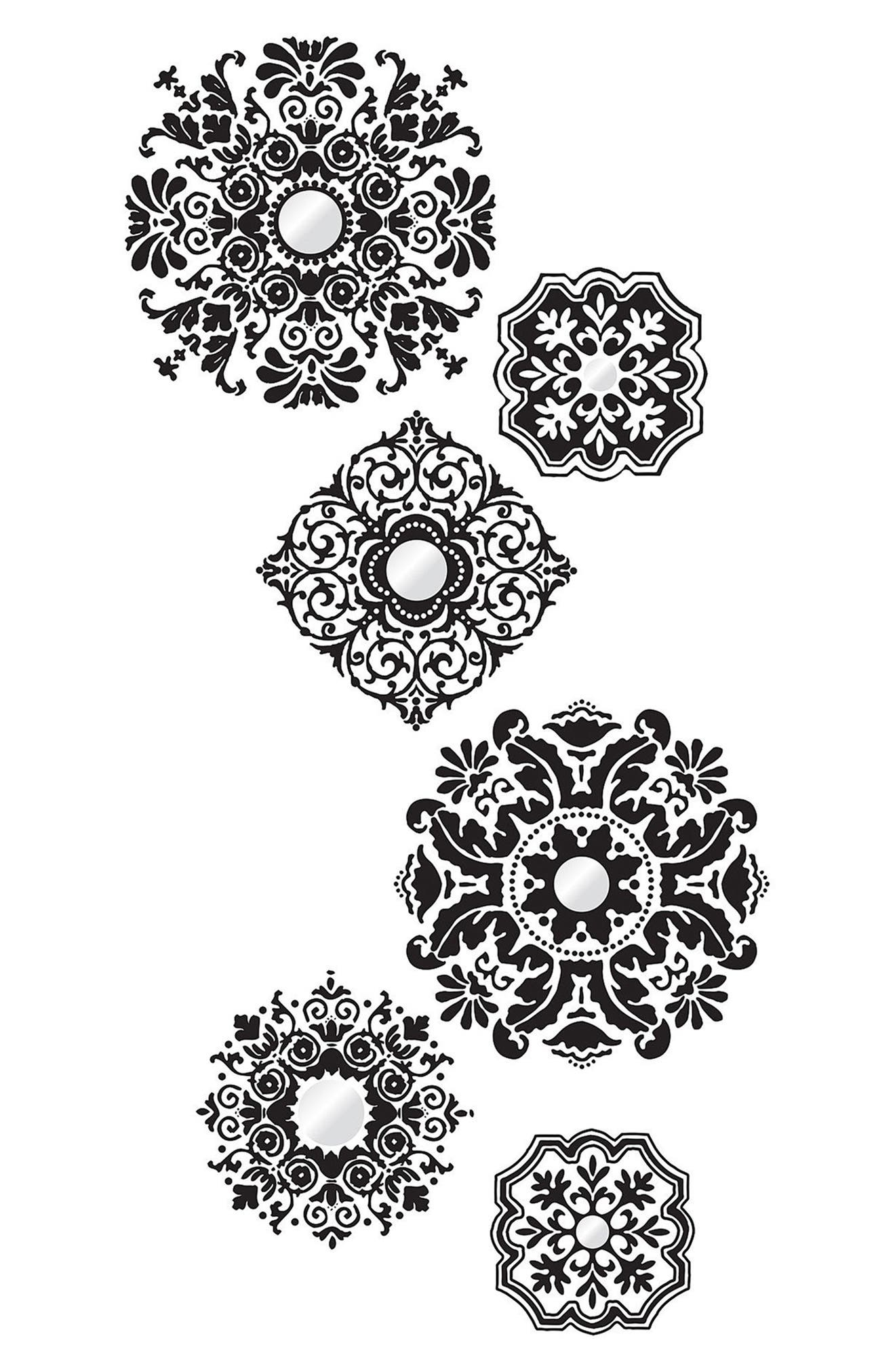 Alternate Image 1 Selected - Wallpops Baroque 6-Piece Wall Art Decal Set