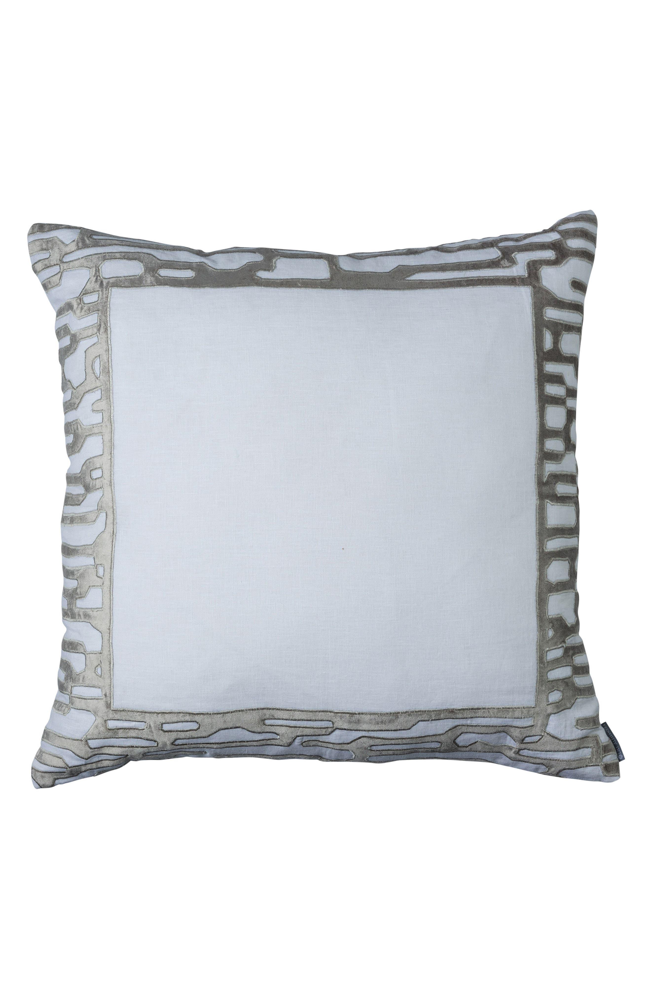 Christian Accent Pillow,                         Main,                         color, Platnium