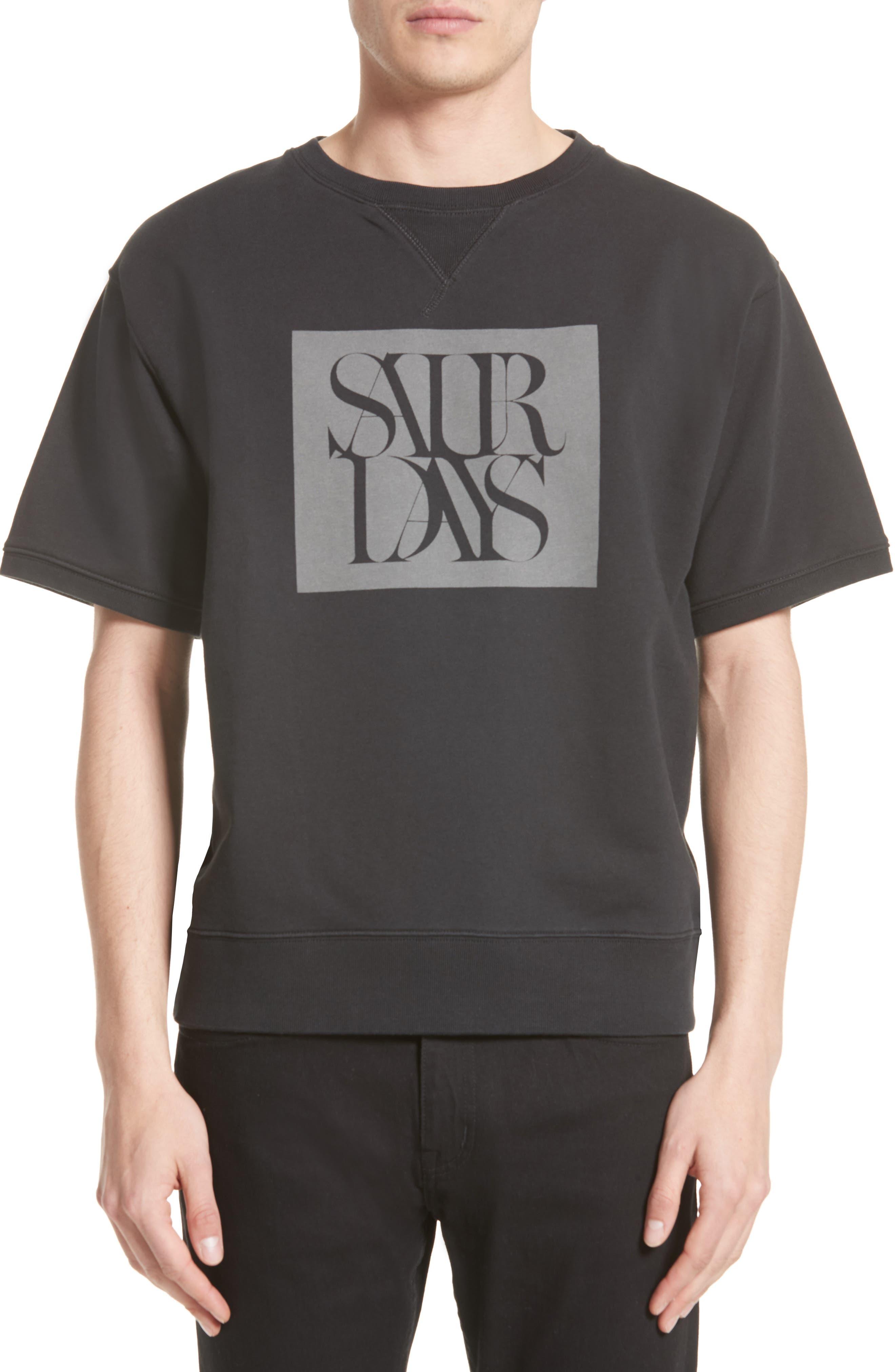 Saturdays NYC Elliot Graphic T-Shirt